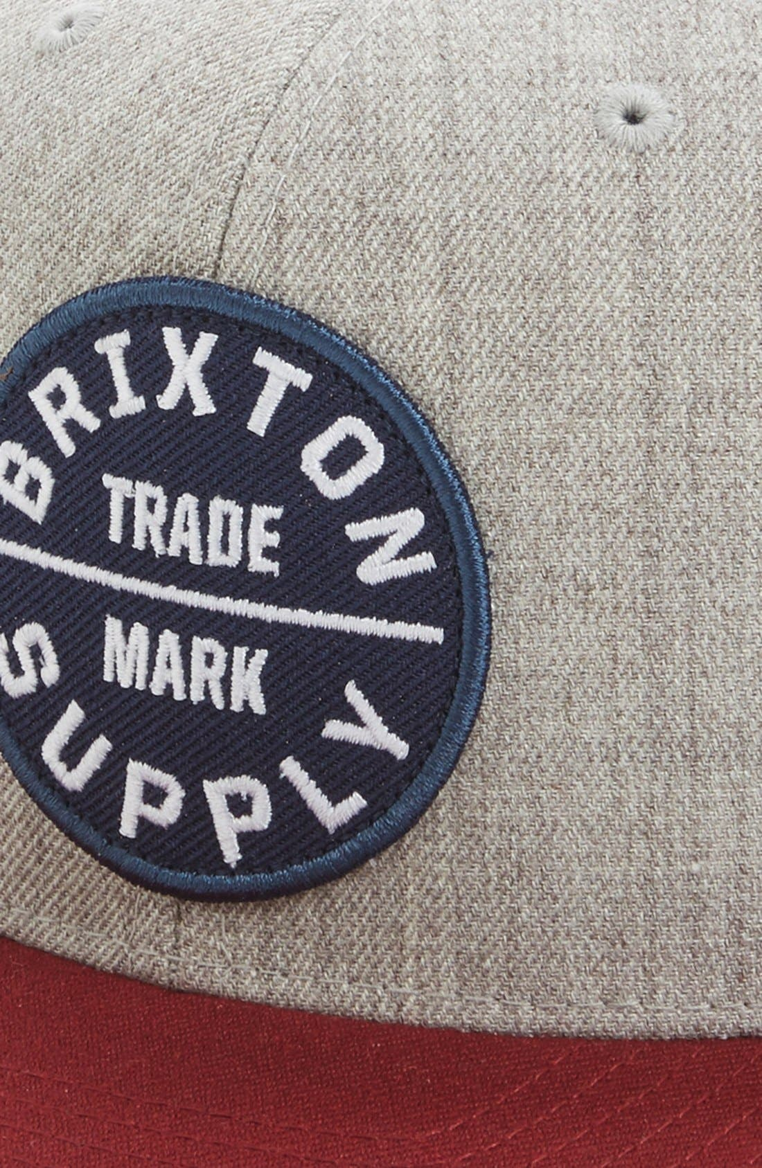 Alternate Image 2  - Brixton 'Oath III' Snapback Cap