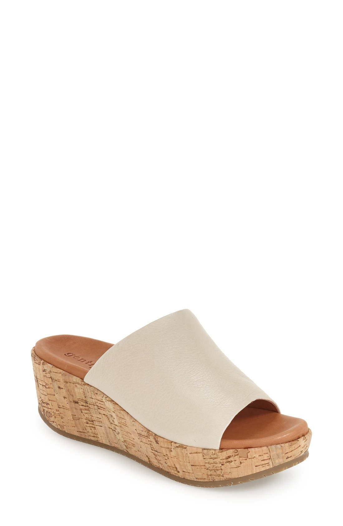 GENTLE SOULS 'Megan' Platform Wedge Sandal