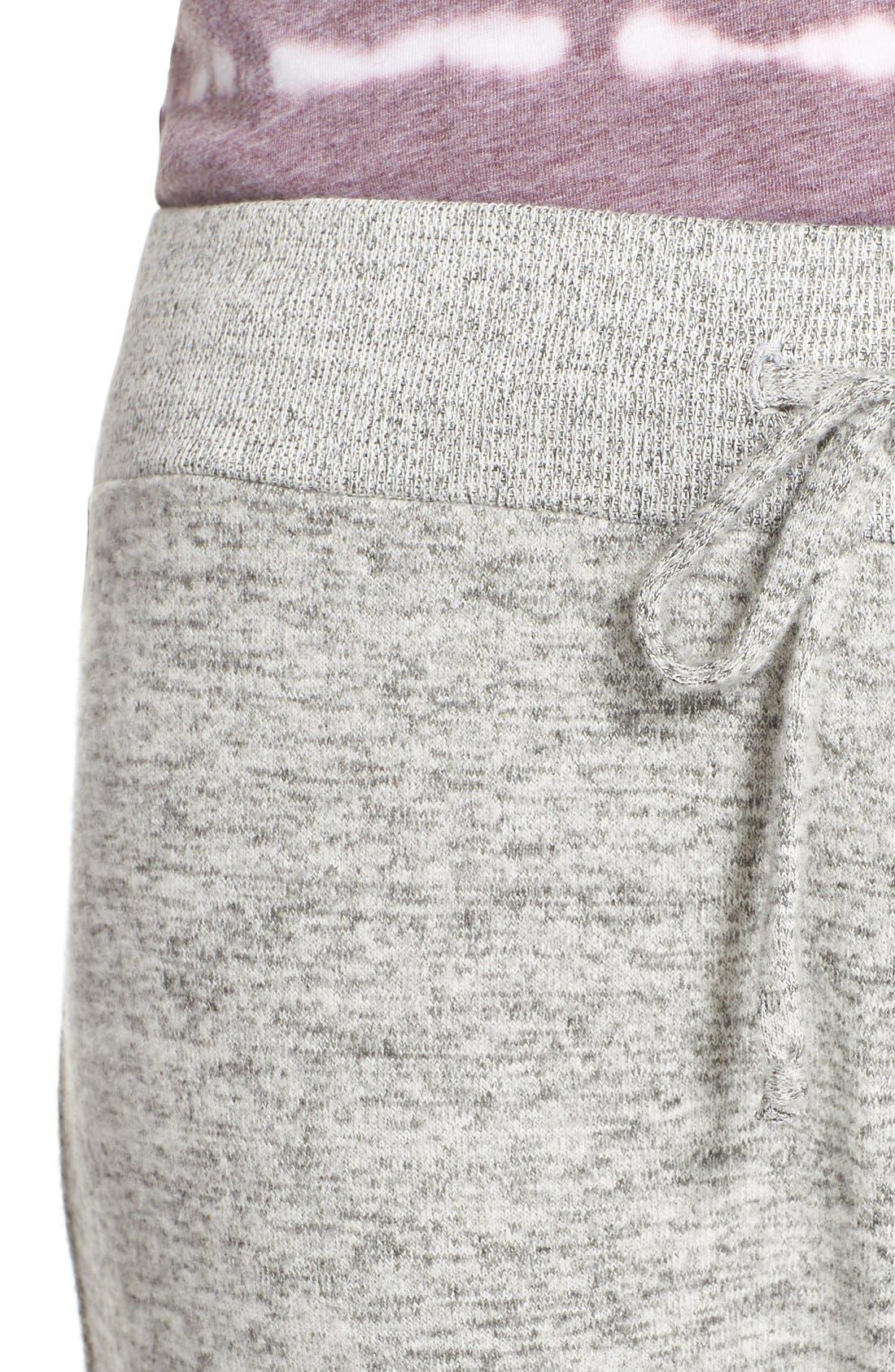 Alternate Image 4  - Make + Model Brushed Hacci Jogger Pants