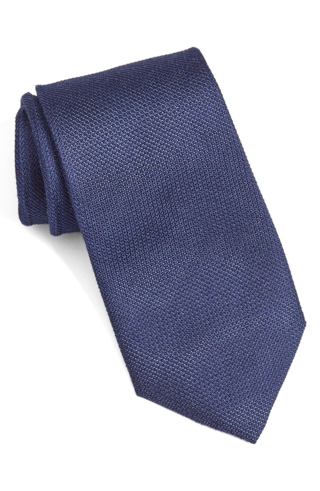 Nordstrom Men's Shop 'Grenadine Solid' Silk Tie