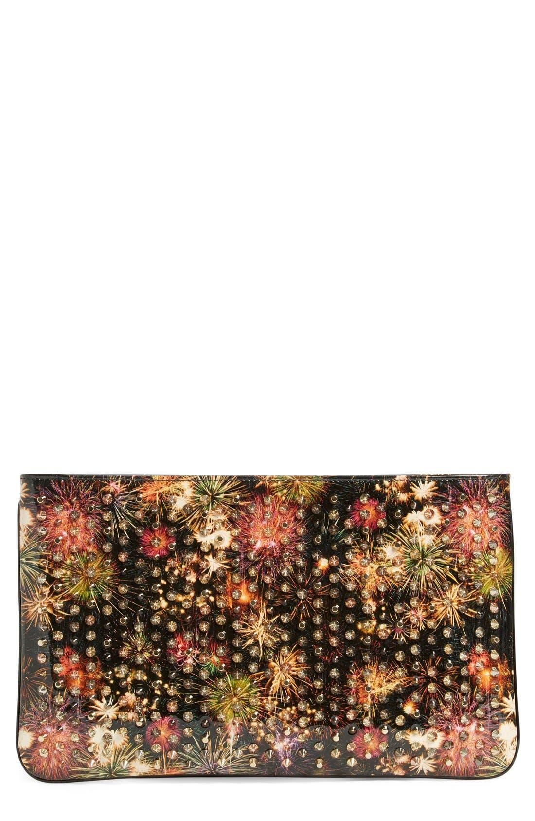 Alternate Image 1 Selected - Christian Louboutin 'Loubiposh - Firework' Clutch