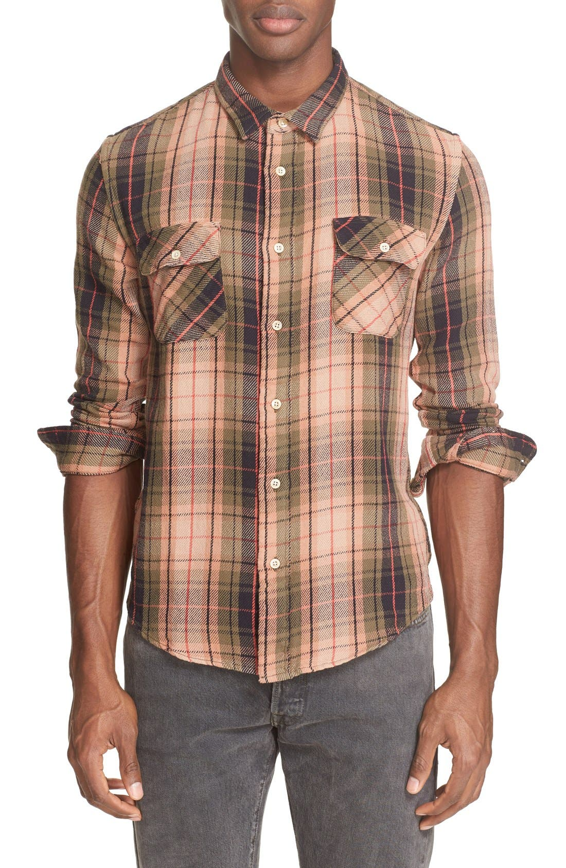 LEVI'S® VINTAGE CLOTHING Shorthorn Plaid Shirt