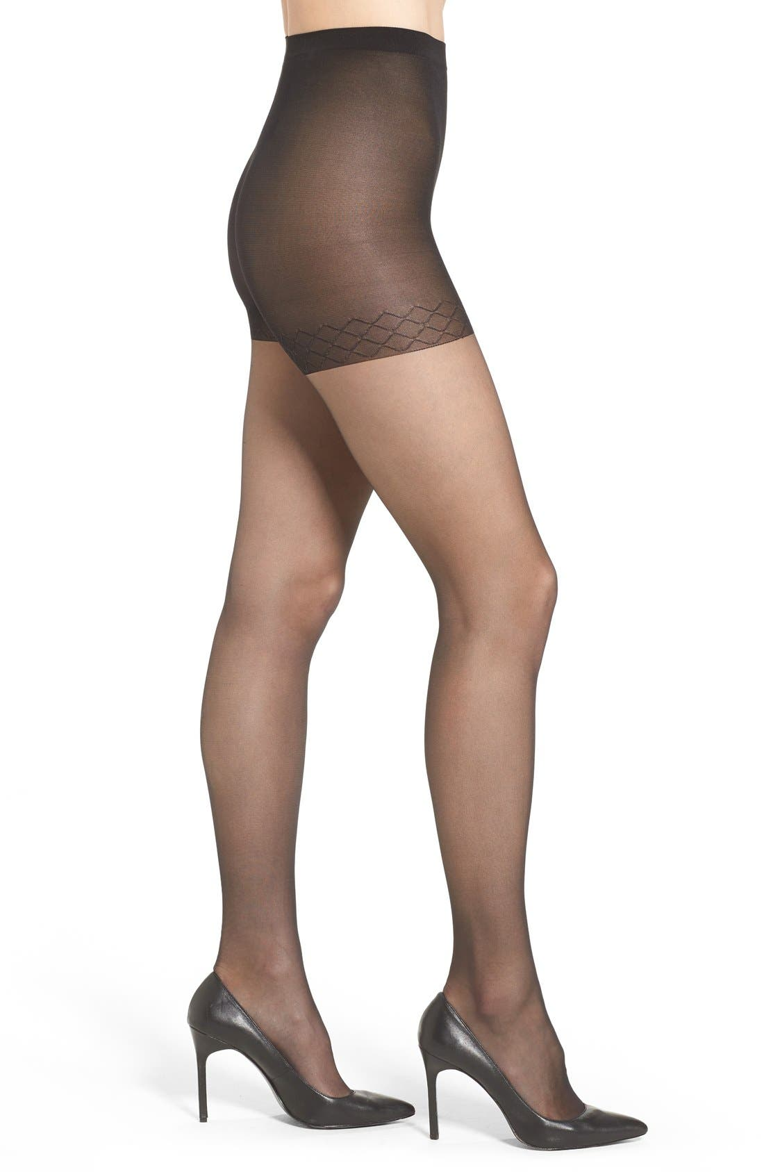 Alternate Image 1 Selected - Nordstrom Sheer Control Top Pantyhose