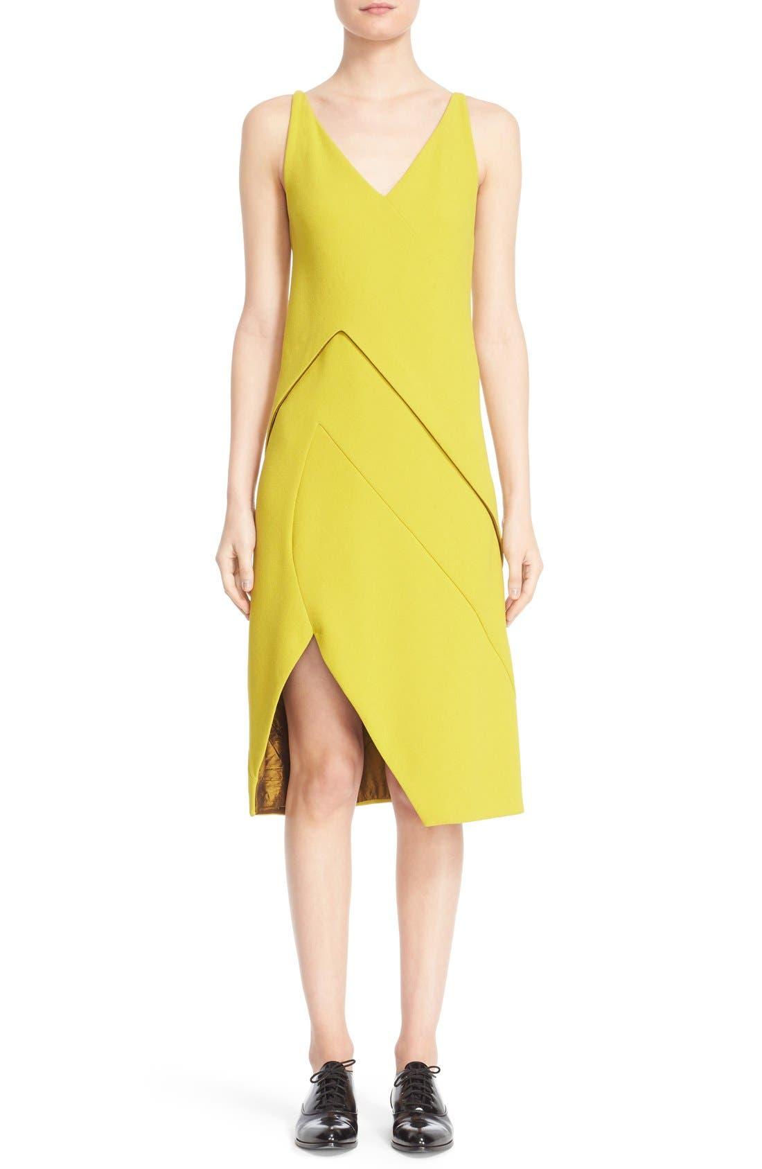 Narciso Rodriguez Sleeveless Crepe Dress