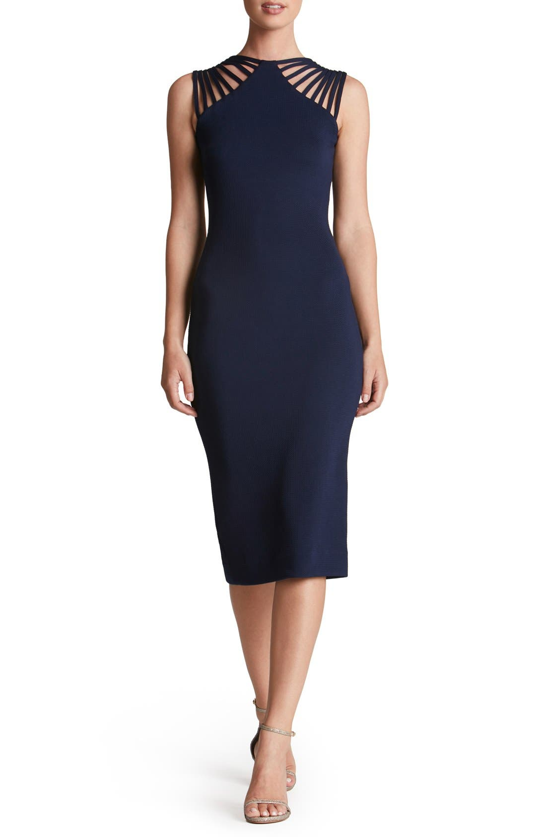 Alternate Image 1 Selected - Dress the Population Gwen Midi Dress