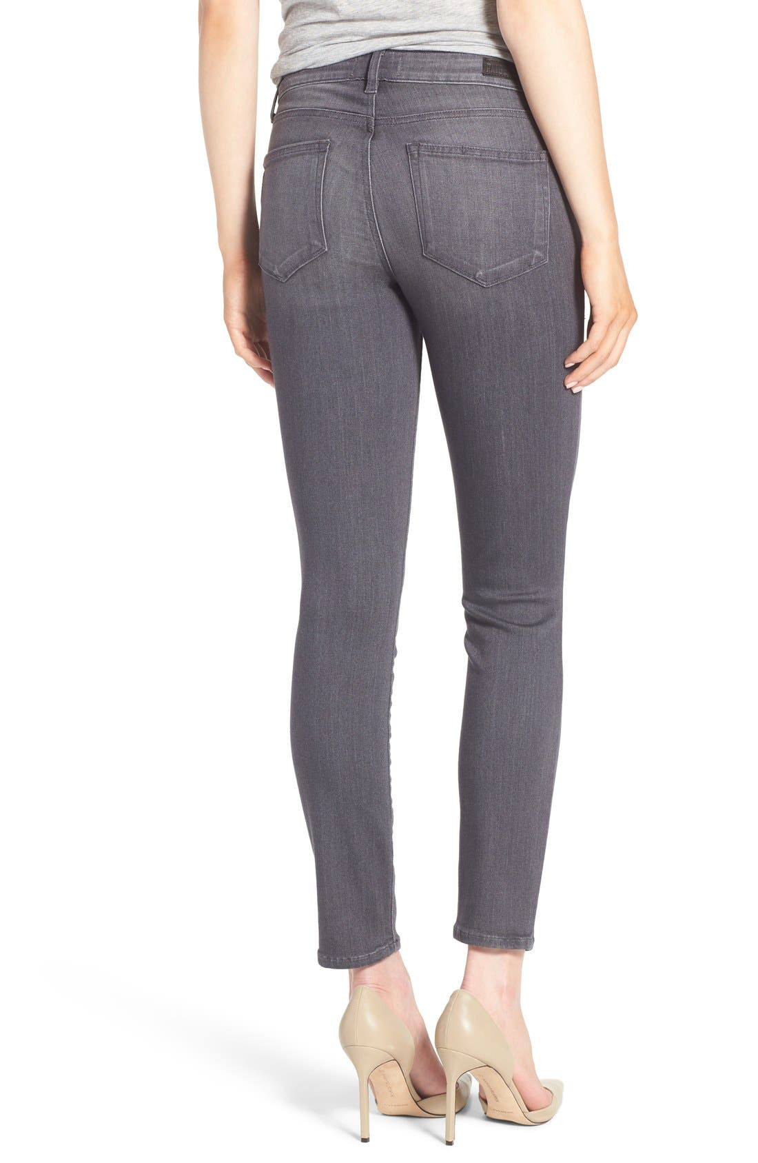 Alternate Image 2  - PAIGE Transcend - Verdugo Ankle Jeans (Bonnie Grey) (Nordstrom Exclusive)