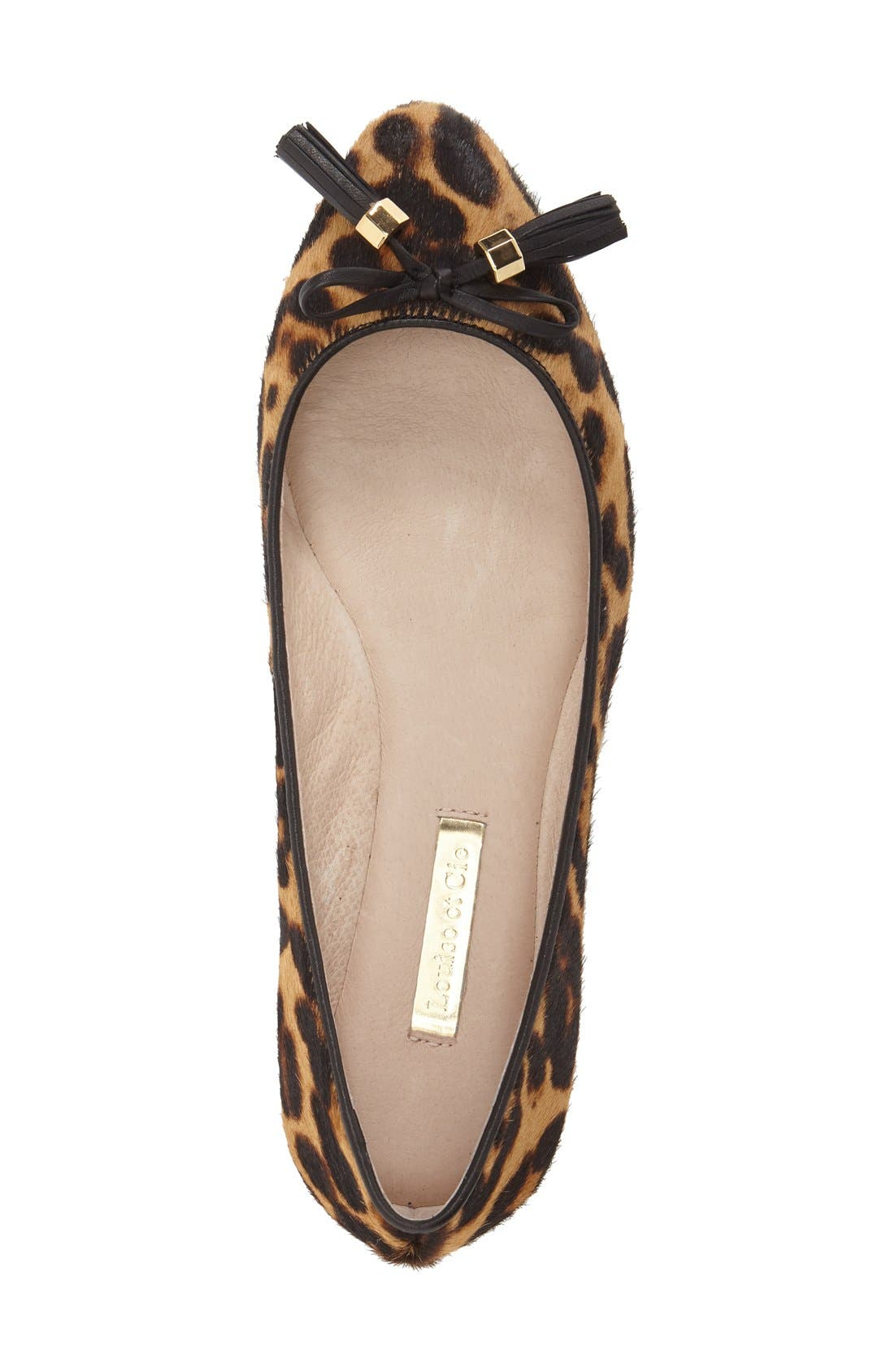 Alternate Image 3  - Louise et Cie 'Aradella' Genuine Calf Hair Pointy Toe Flat (Women) (Nordstrom Exclusive)