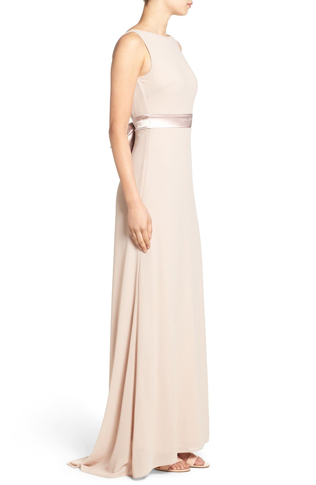 Alternate Image 3  - TFNC 'Halanna' Bow Detail Maxi Dress