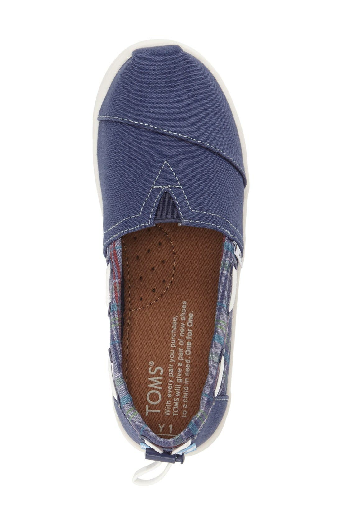 Alternate Image 3  - TOMS 'Bimini - Youth' Slip-On (Toddler, Little Kid & Big Kid)