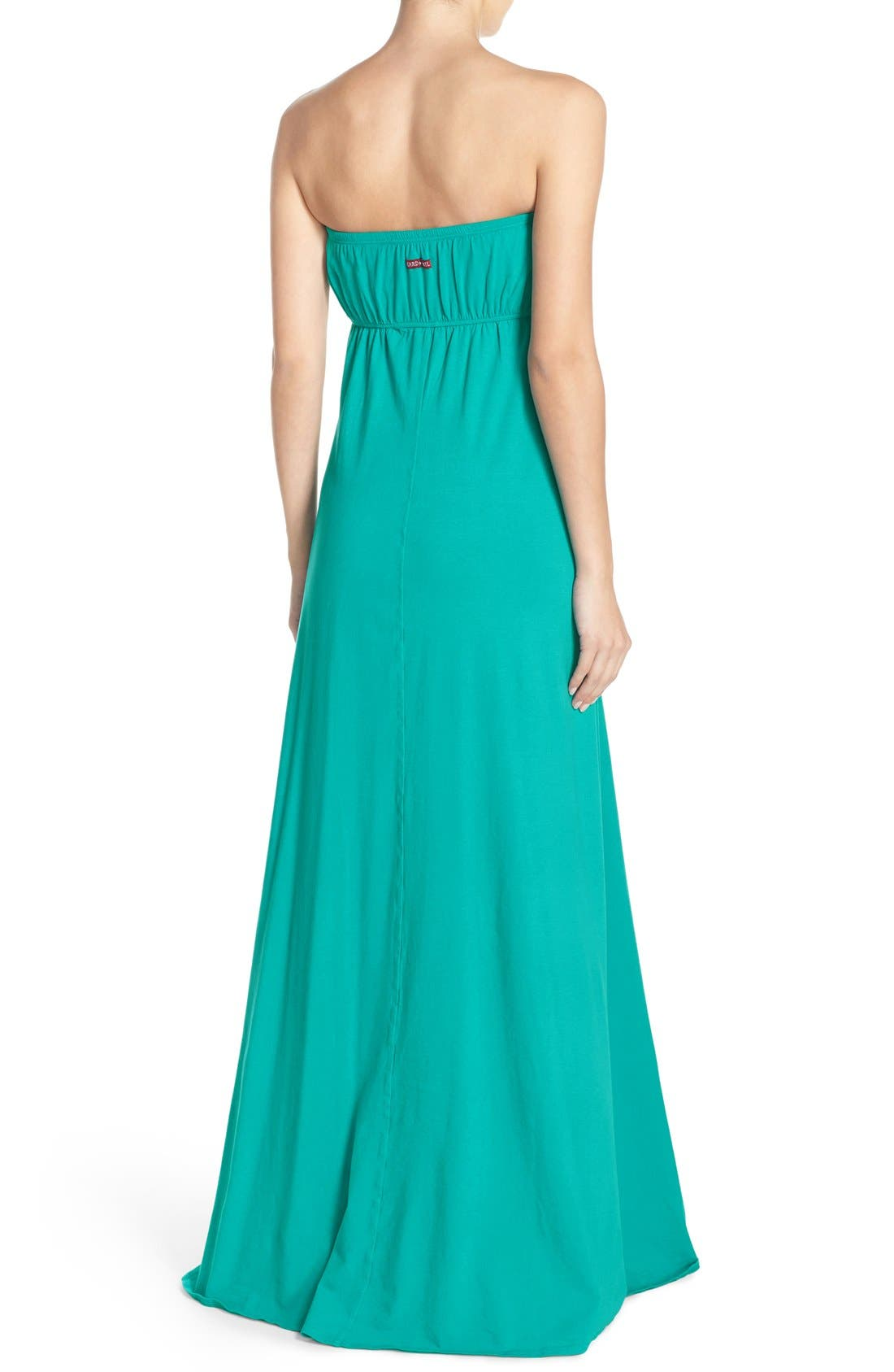 Alternate Image 2  - Hard Tail Long Strapless Dress