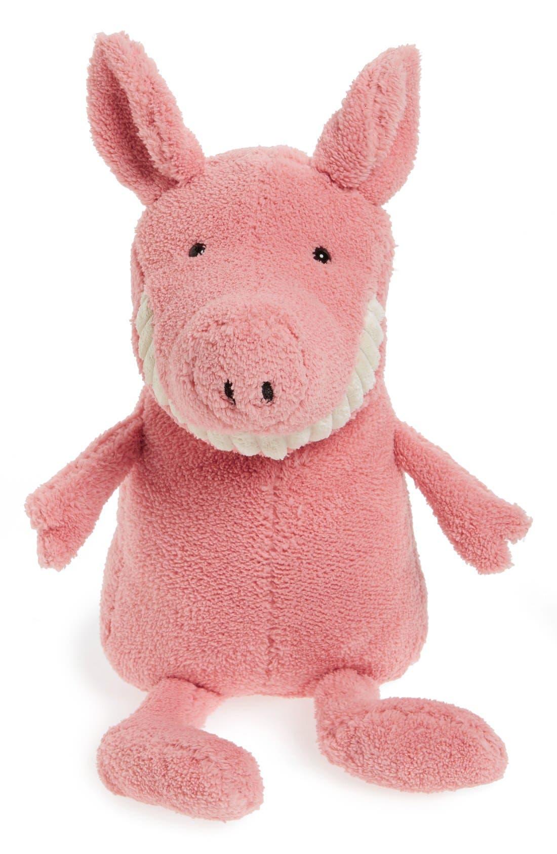 Alternate Image 1 Selected - Jellycat 'Medium Toothy Pig' Stuffed Animal