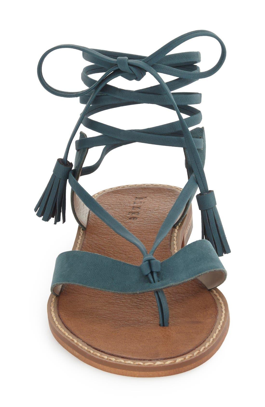 Alternate Image 3  - Hinge 'Avery' Wraparound Strap Sandal (Women)