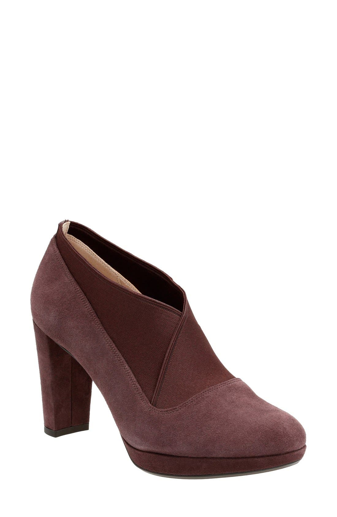 Clarks® 'Kendra Mix' Pump (Women)