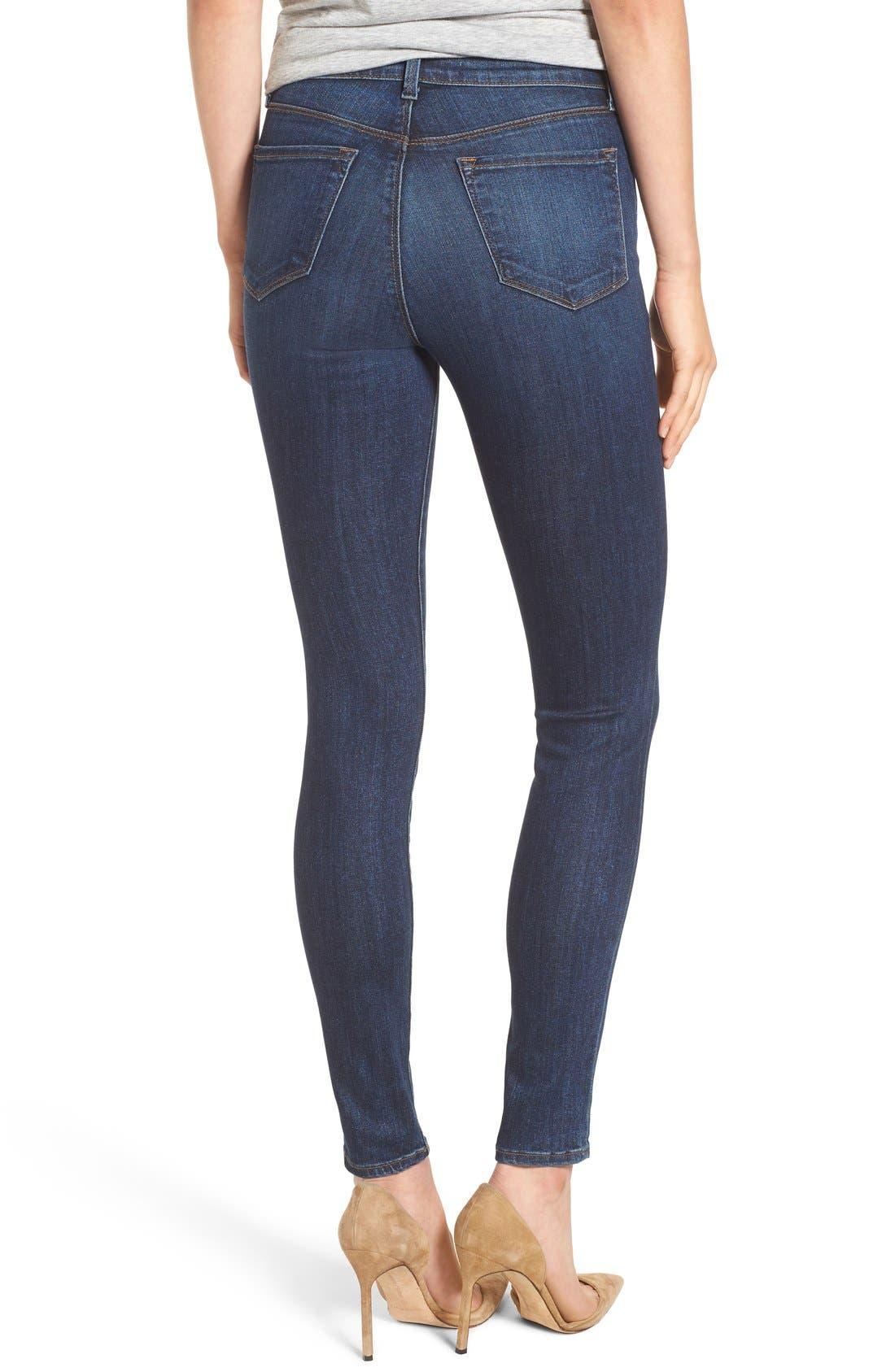 Alternate Image 2  - J Brand Maria High Waist Skinny Jeans (Fleeting)