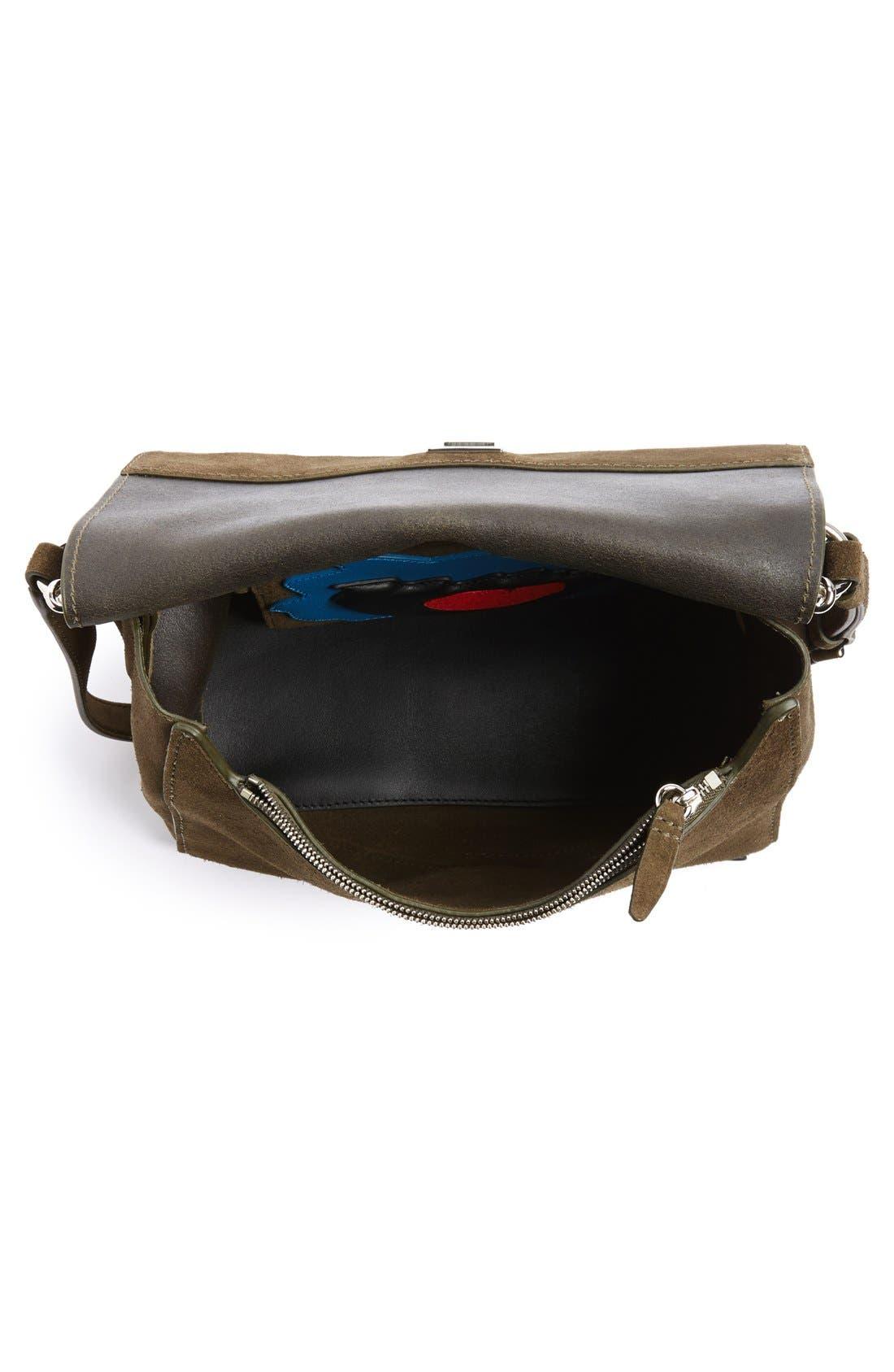 Alternate Image 4  - 3.1 Phillip Lim 'Ames - Patchwork' Leather Crossbody Bag