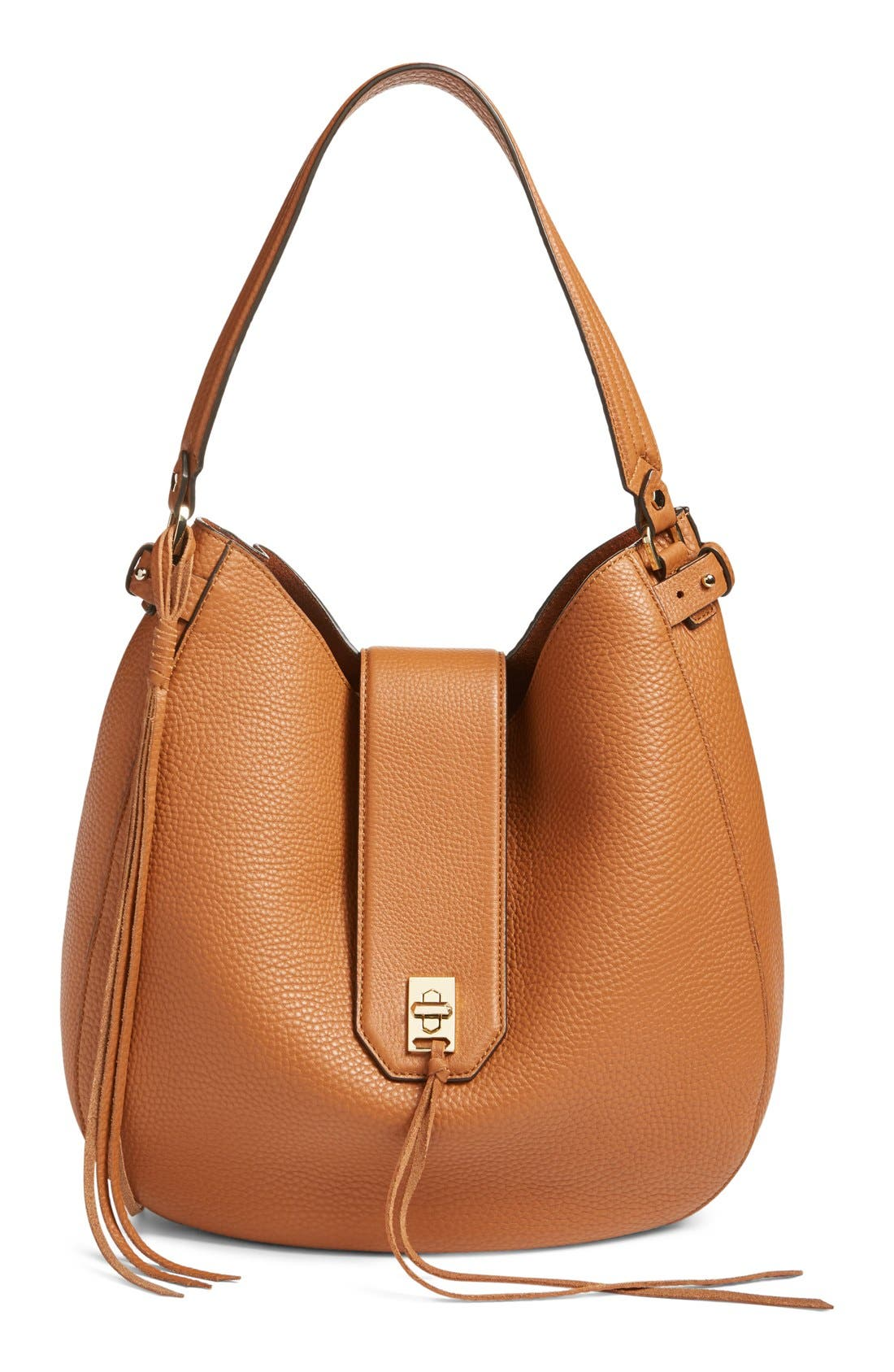 Alternate Image 1 Selected - Rebecca Minkoff 'Darren' Leather Hobo Bag