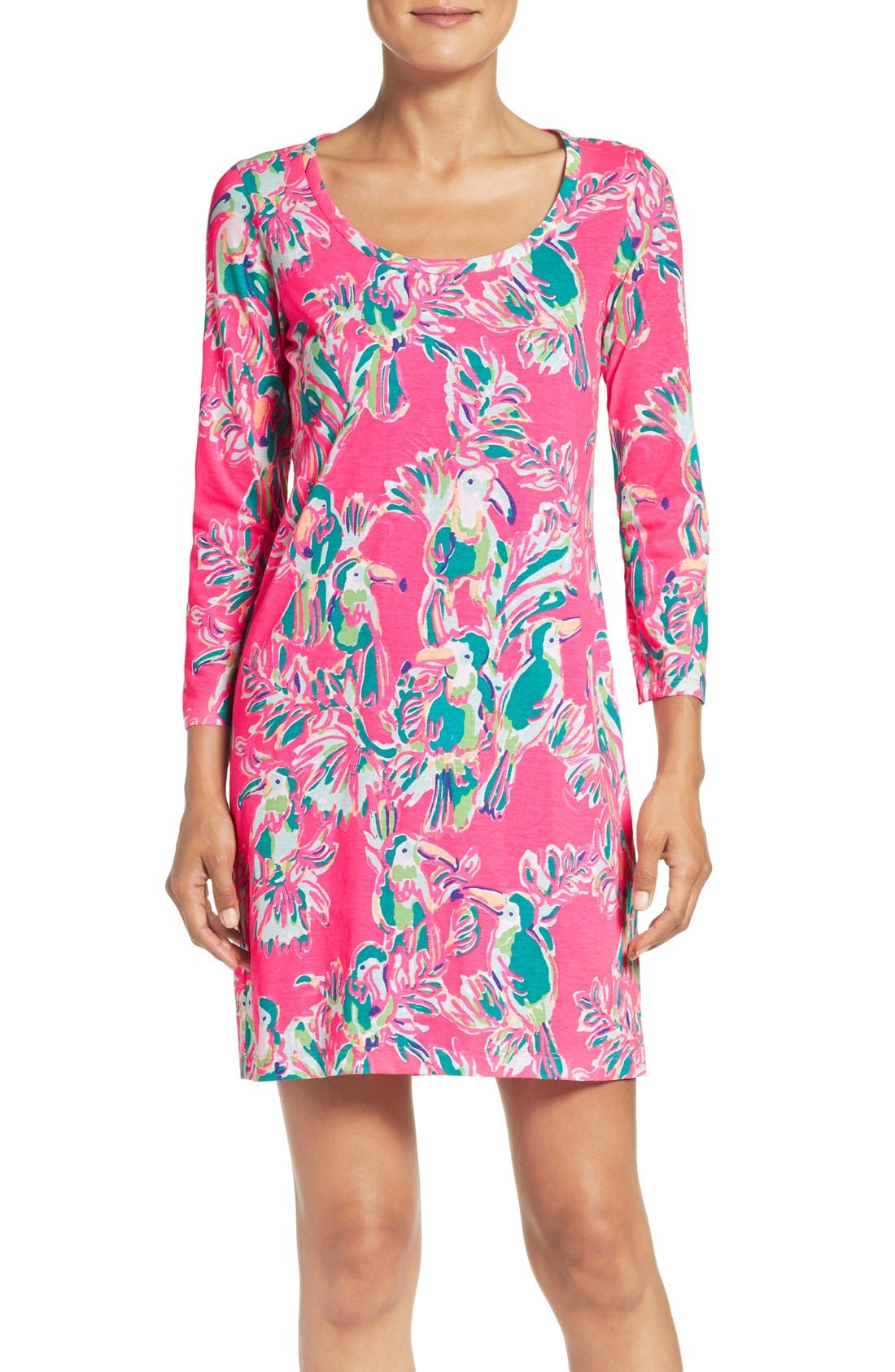 Alternate Image 1 Selected - Lilly Pulitzer® 'Beacon' Print Pima Cotton Dress