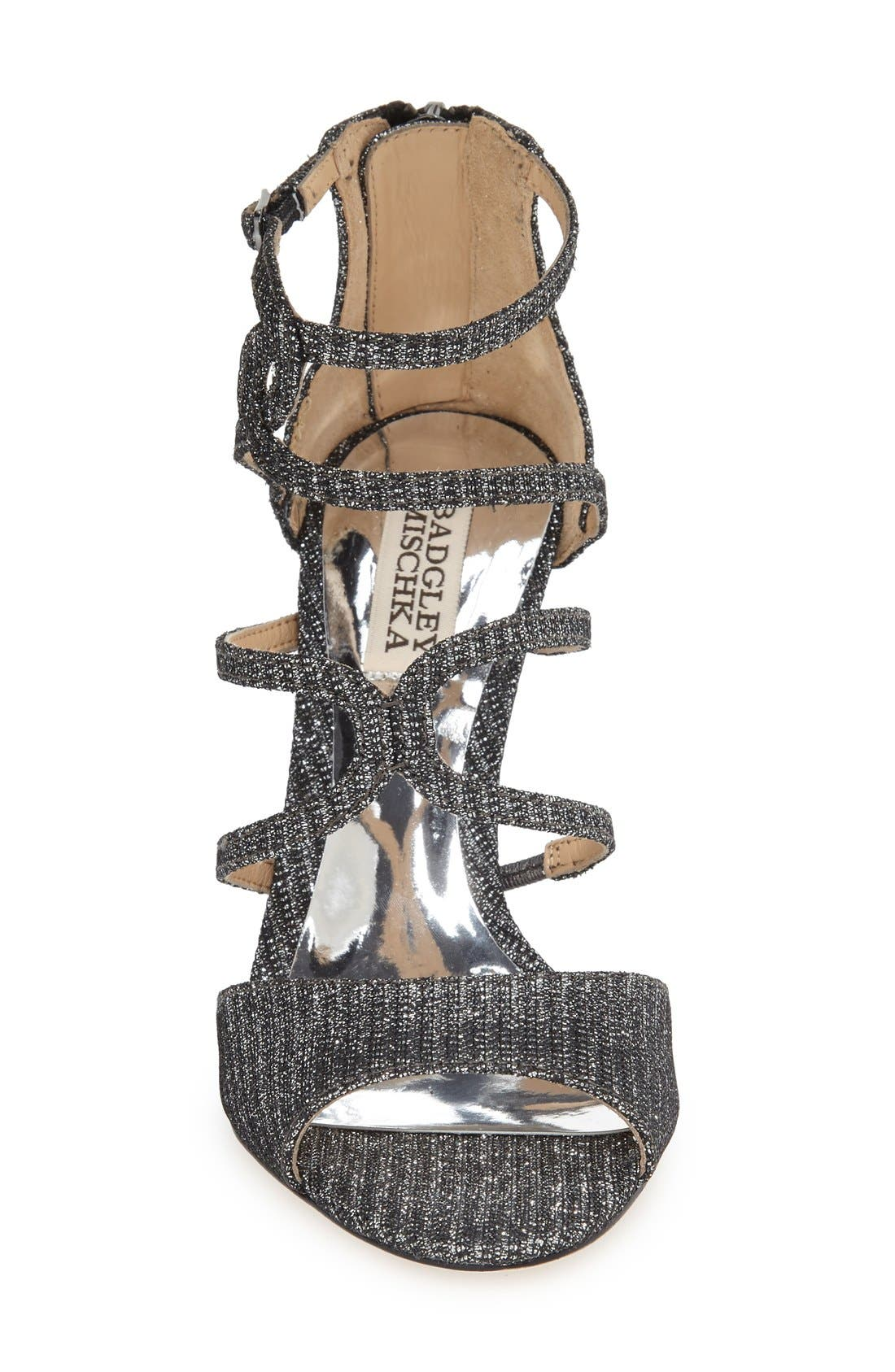 Alternate Image 3  - Badgley Mischka 'Devon' Strappy Sandal (Women)
