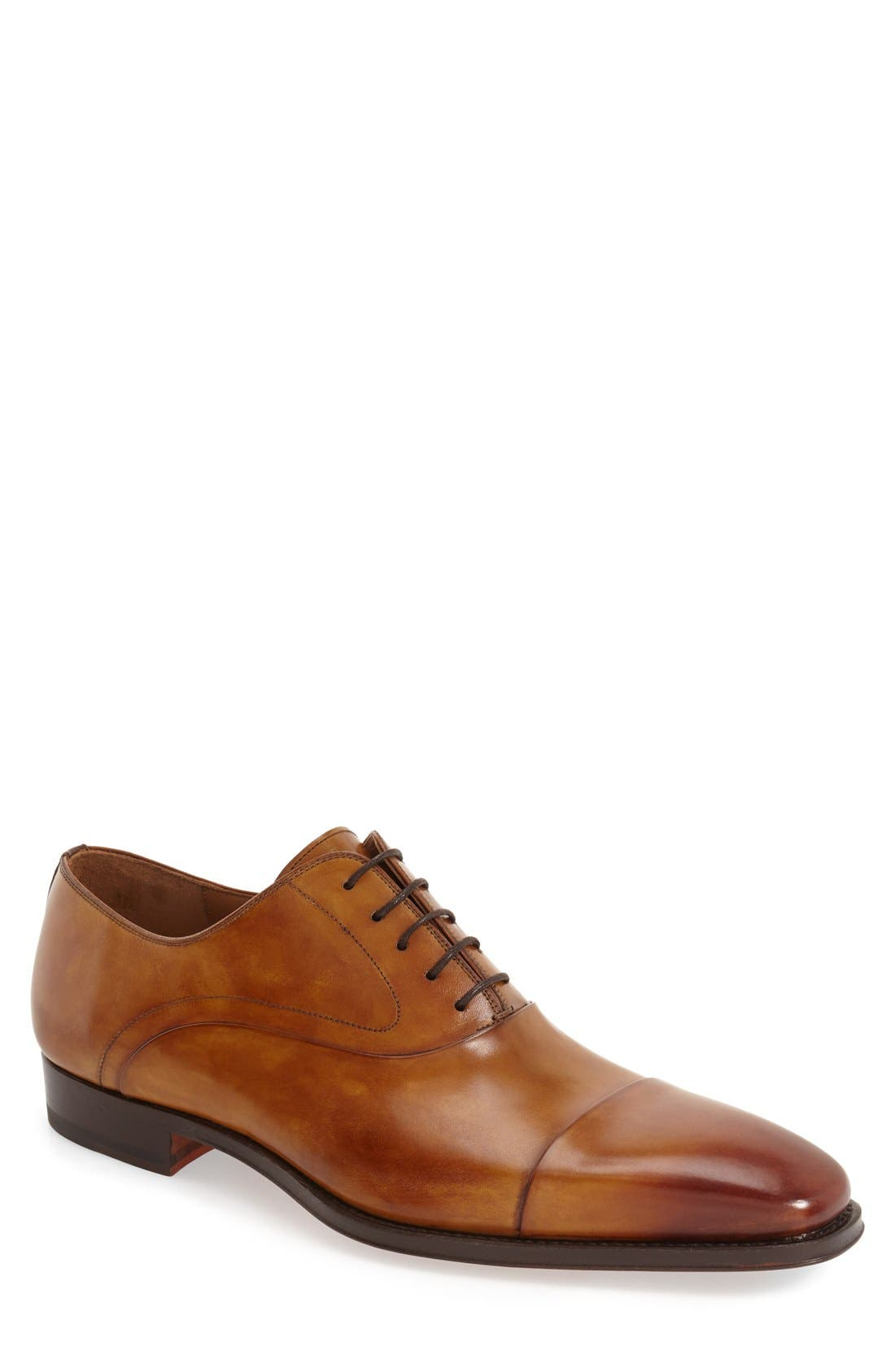 Magnanni Saffron Cap Toe Oxford (Men)