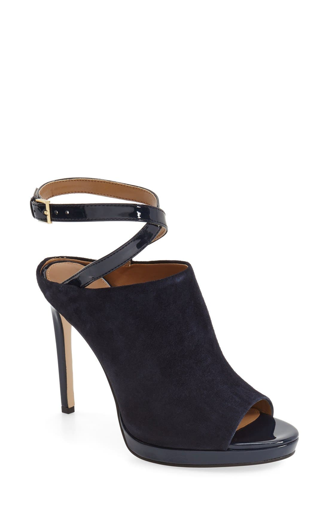 Alternate Image 1 Selected - Calvin Klein 'Samantha' Ankle Strap Mule (Women)