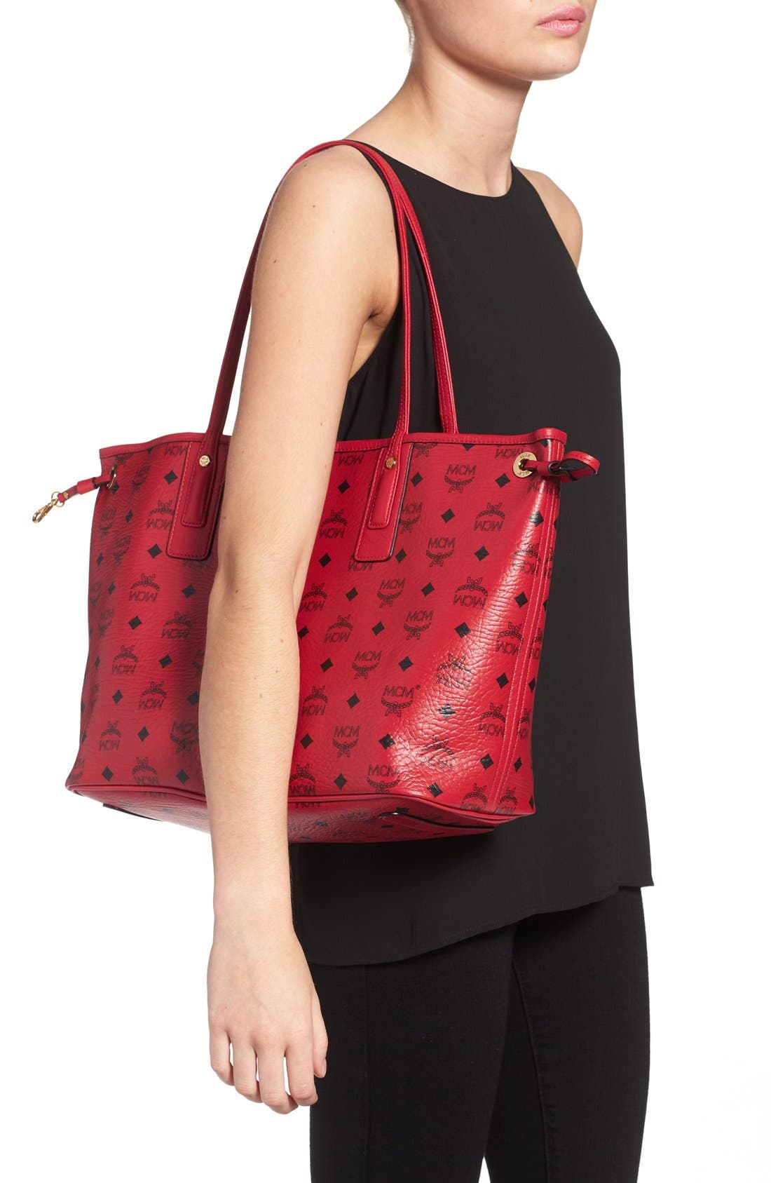 Alternate Image 2  - MCM Medium Liz Reversible Shopper