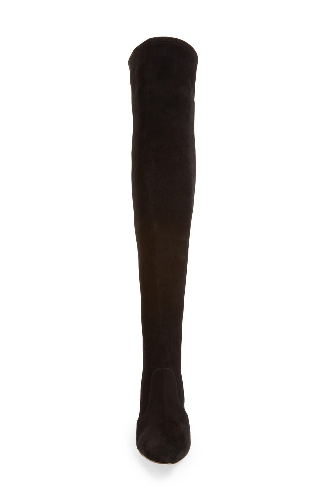 Alternate Image 3  - Manolo Blahnik 'Pascalla' Over the Knee Boot (Women)
