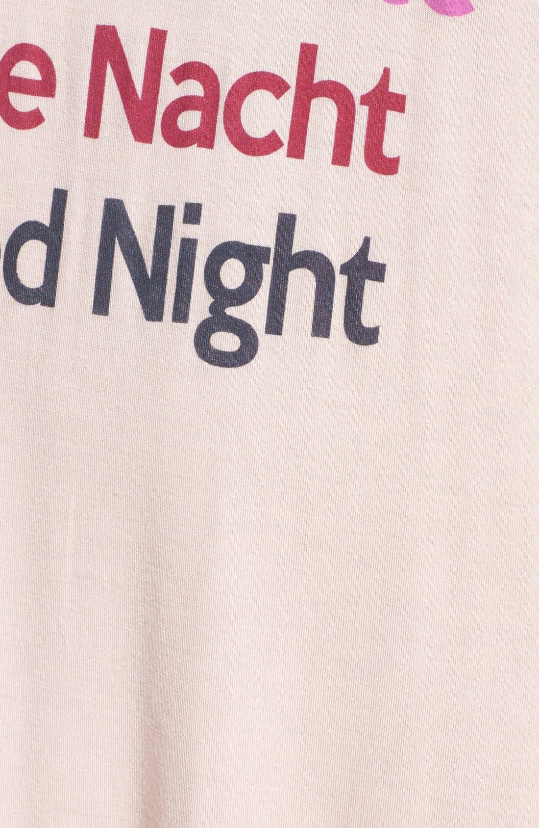 Alternate Image 4  - Junk Food 'Bonne Nuit' Sleep Shirt