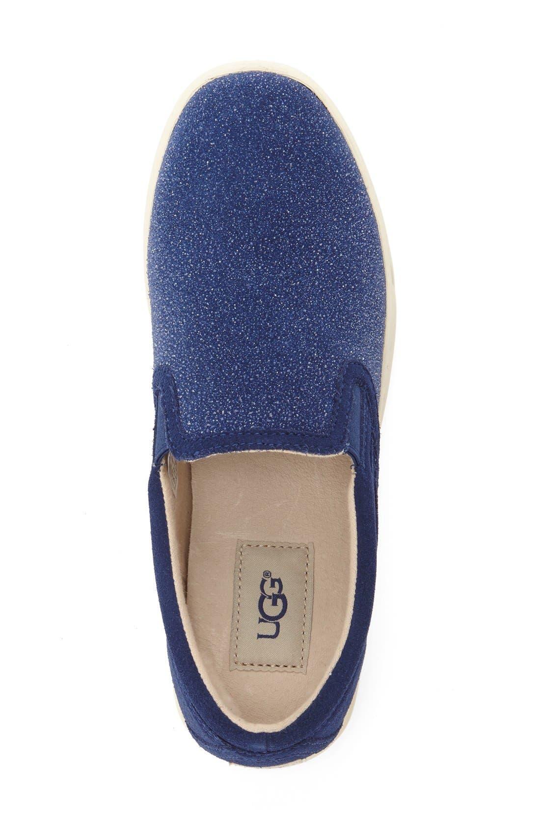 Alternate Image 3  - UGG® Fierce Slip-On Sneaker (Women)