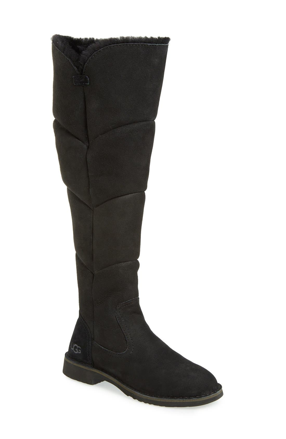 Alternate Image 1 Selected - UGG® Sibley Over the Knee Water Resistant Boot (Women)