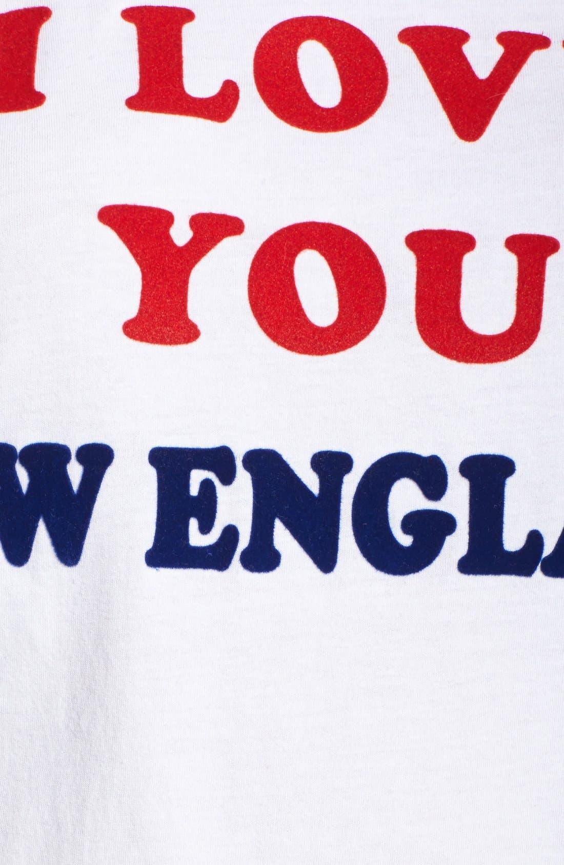 Alternate Image 6  - Junk Food 'New England Patriots' Raglan Cotton Tee