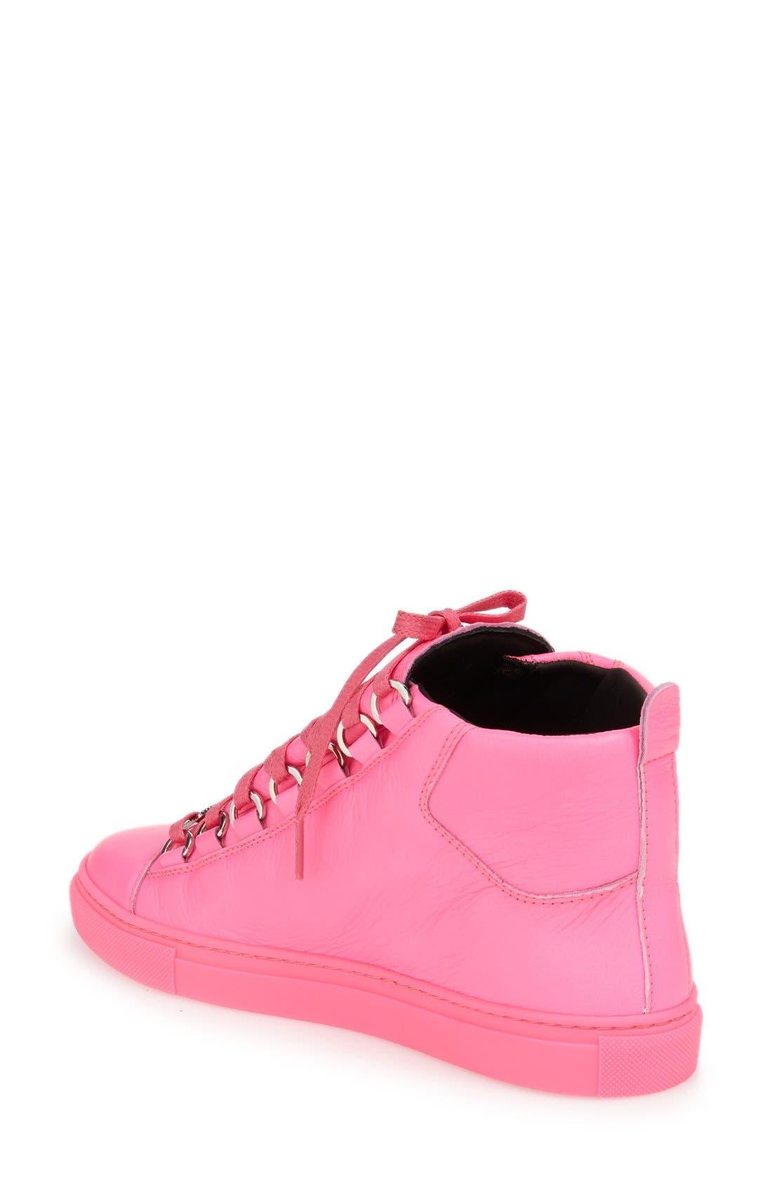 Alternate Image 5  - Balenciaga High Top Sneaker (Women)