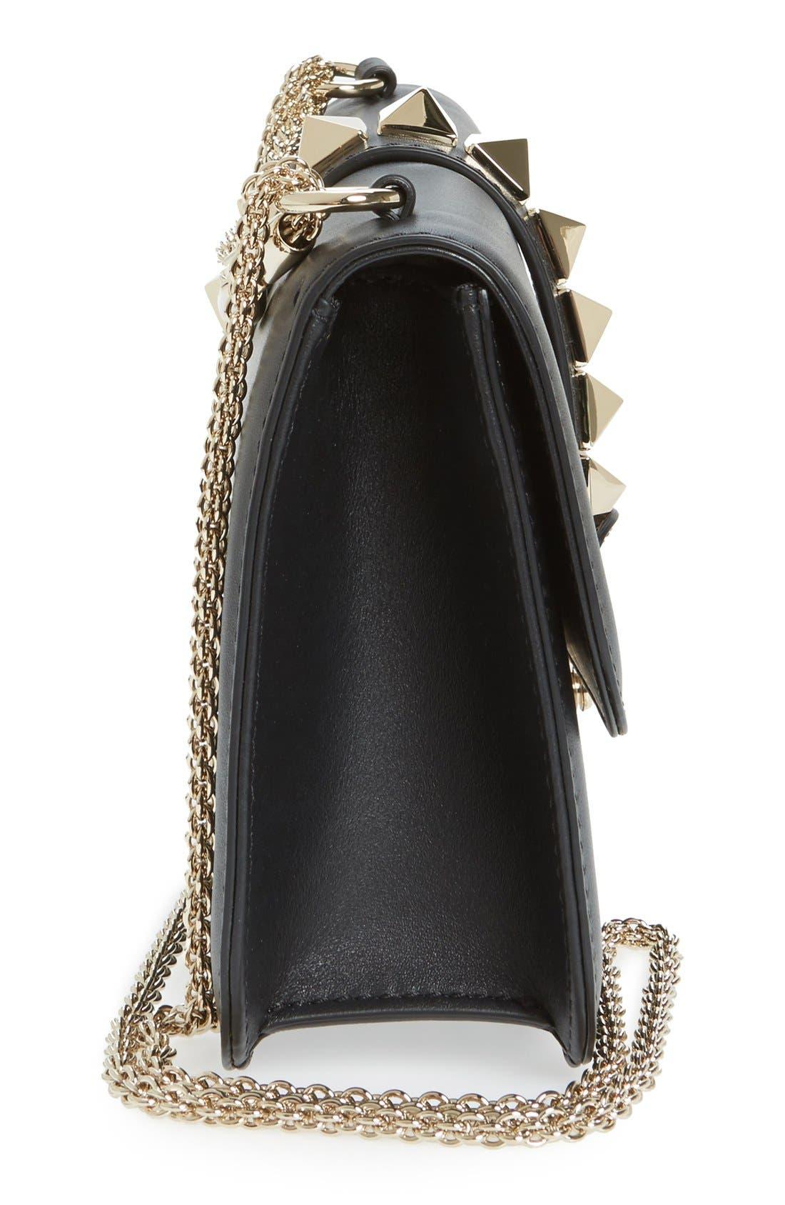 Alternate Image 5  - Valentino 'Medium Lock' Studded Leather Shoulder Bag