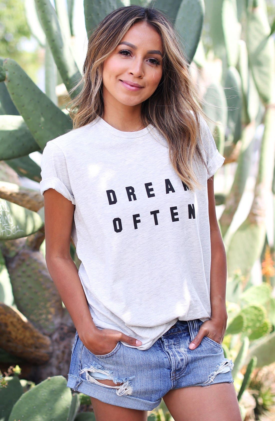 Alternate Image 2  - Sincerely Jules 'Dream Often' Graphic Tee