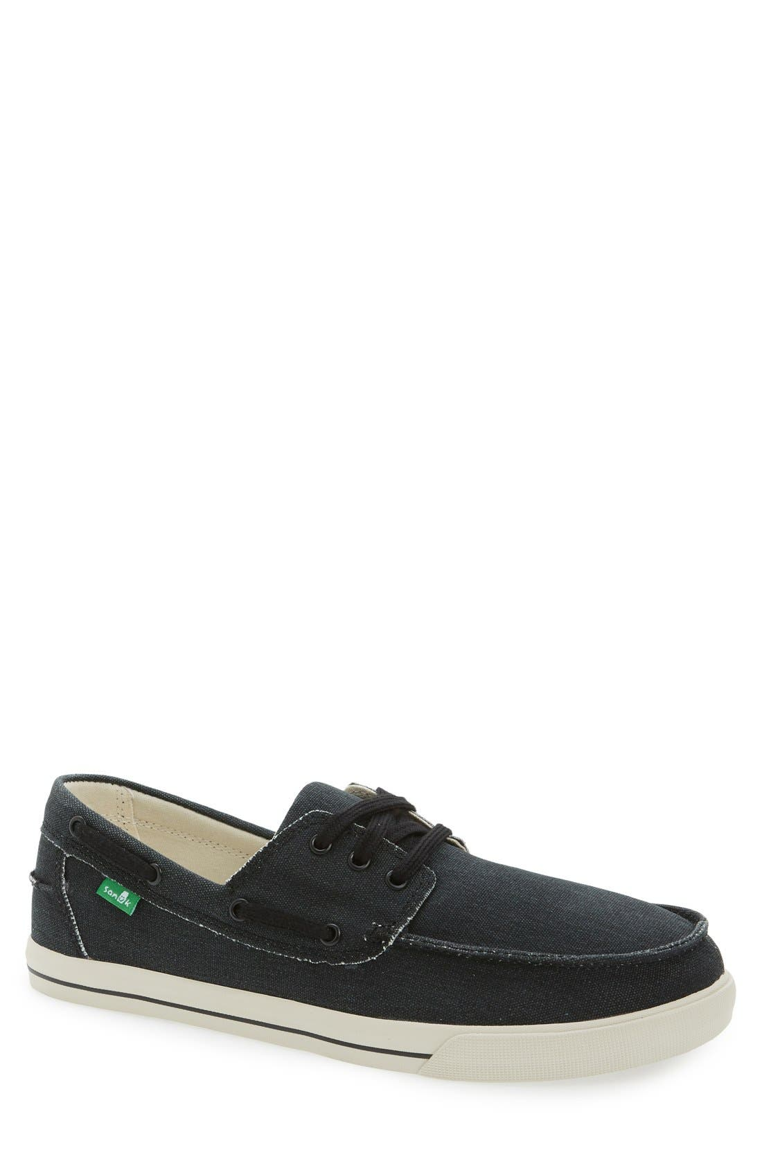 Sanuk 'The Sea Man' Boat Shoe (Men)