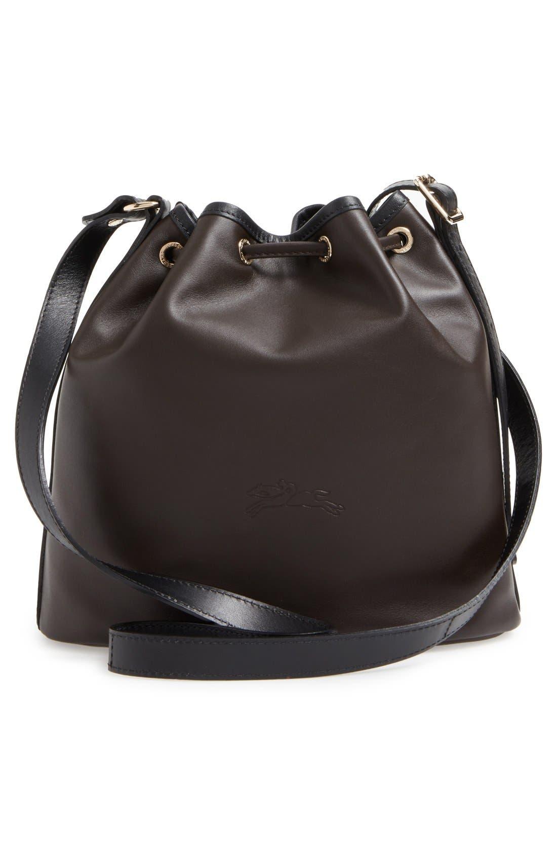 Alternate Image 3  - Longchamp 'Small 2.0' Leather Bucket Bag