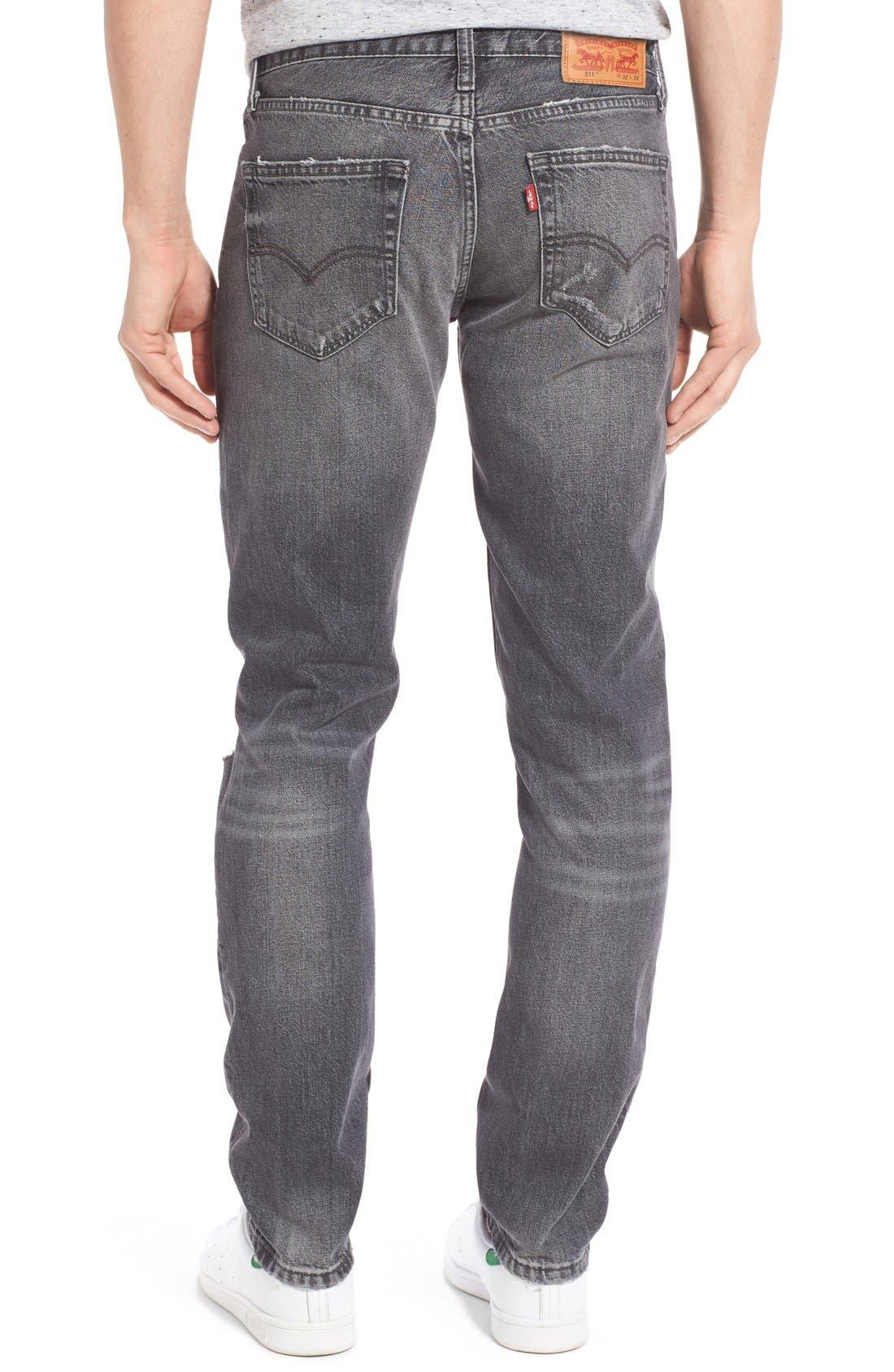Alternate Image 2  - Levi's® 511™ Slim Fit Jeans (Antique Rust)