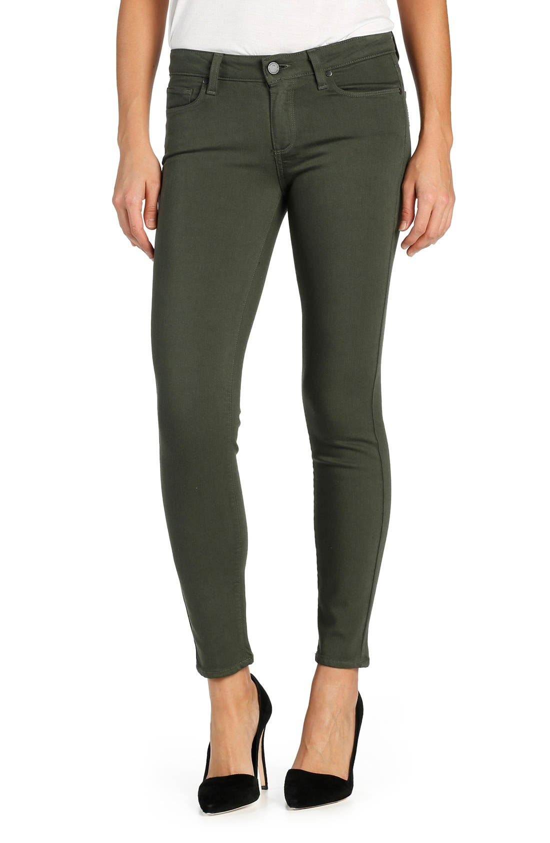 Alternate Image 1 Selected - PAIGE Transcend Verdugo Ankle Ultra Skinny Jeans