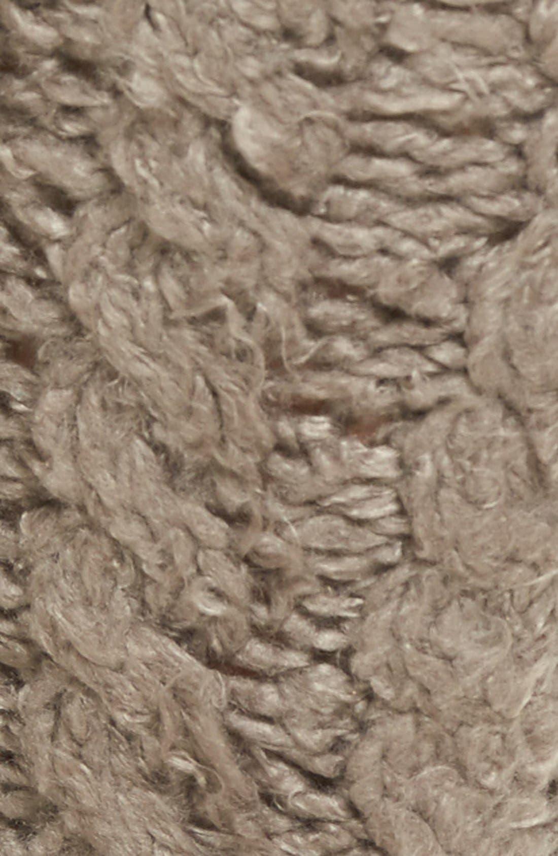 Alternate Image 3  - Lemon 'Garden Marshmallow' Slipper Socks