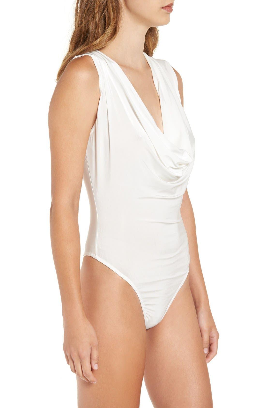 Alternate Image 4  - Missguided Cowl Neck Sleeveless Bodysuit