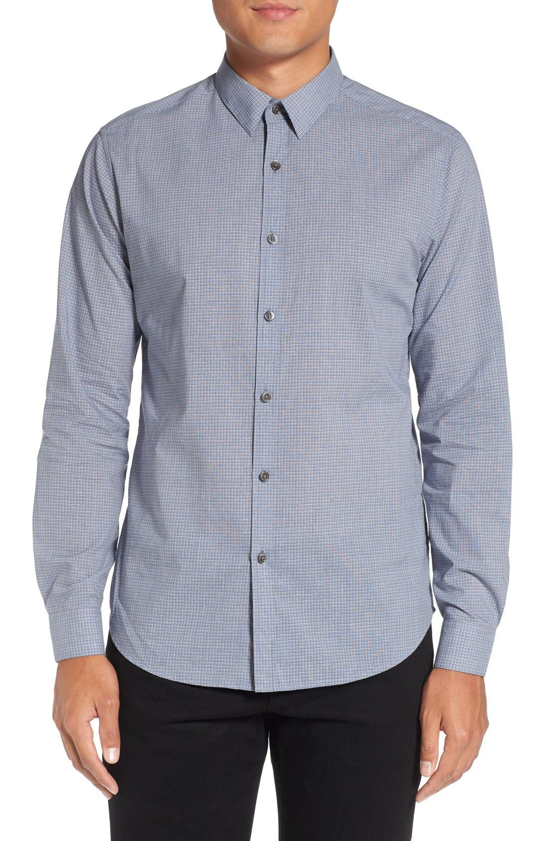 THEORY 'Zack' Trim Fit Sport Shirt