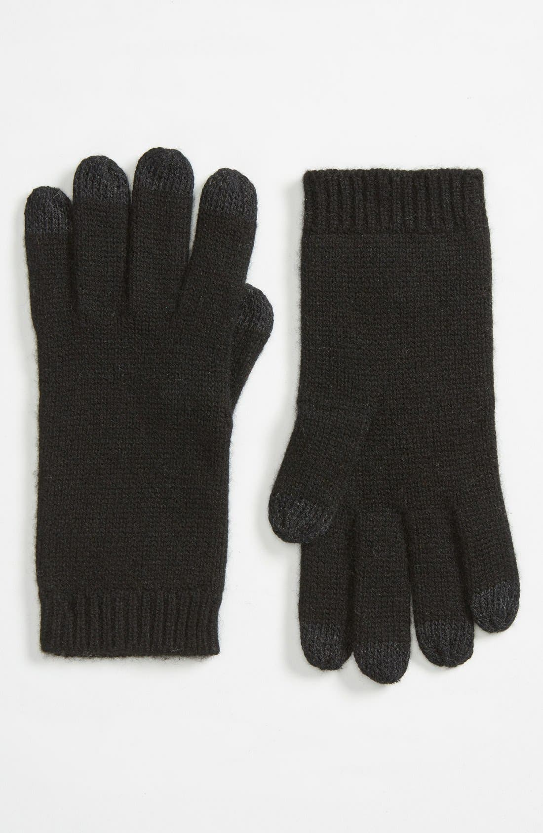 Alternate Image 1 Selected - UGG® 'Luxe Smart' Tech Gloves