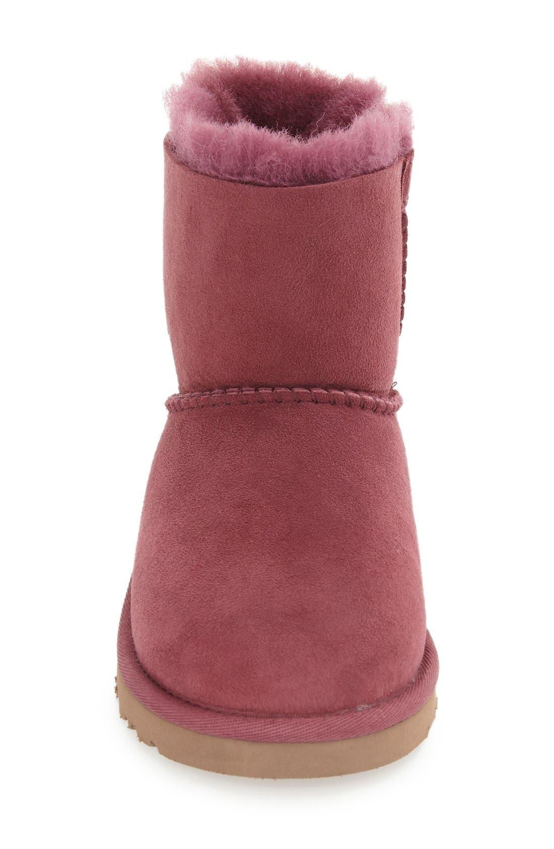 Alternate Image 3  - UGG® 'Kandice' Genuine Shearling Lined Short Boot (Walker, Little Kid & Big Kid)