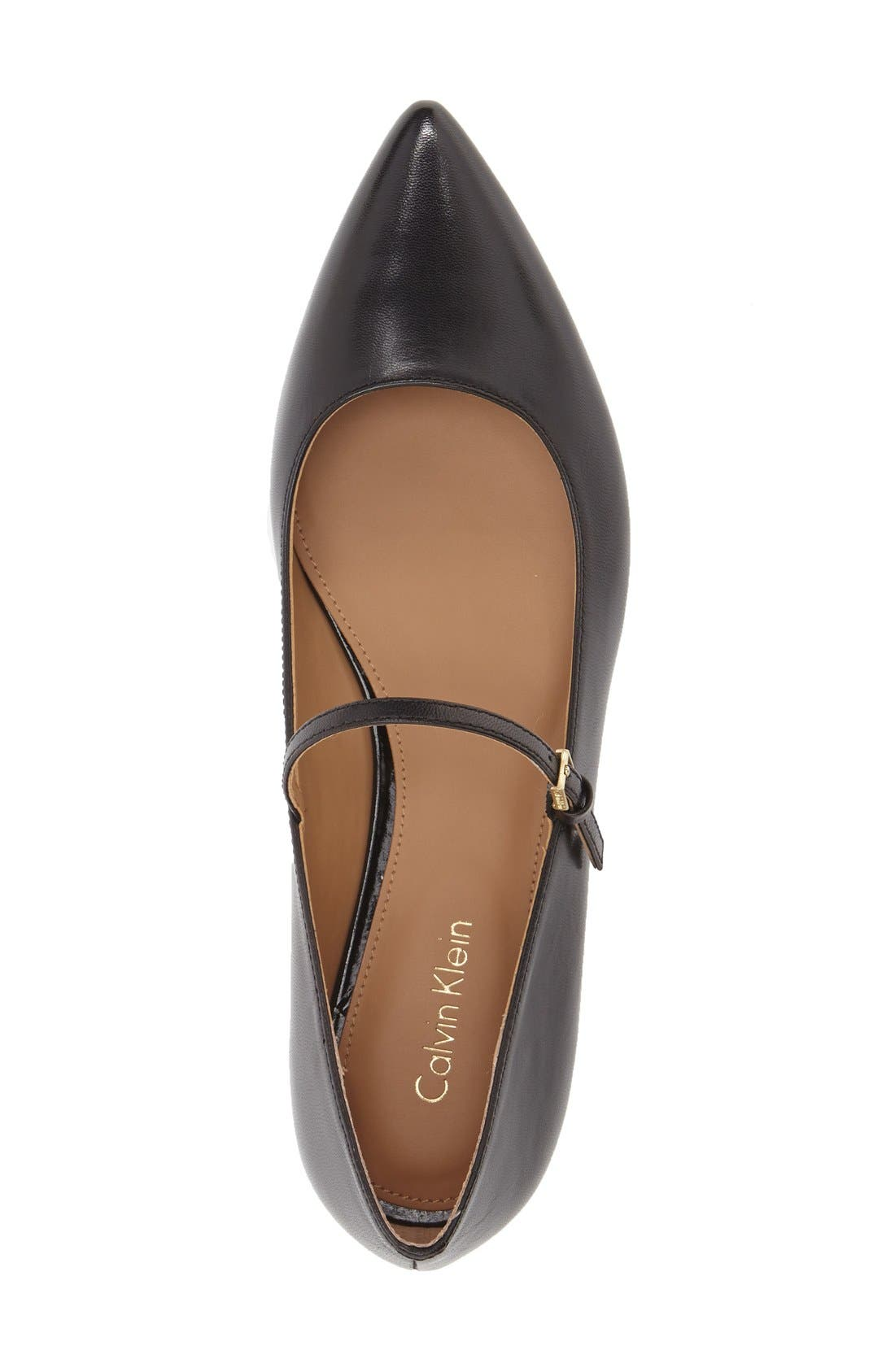 Alternate Image 3  - Calvin Klein 'Gracy' Mary Jane Flat (Women)