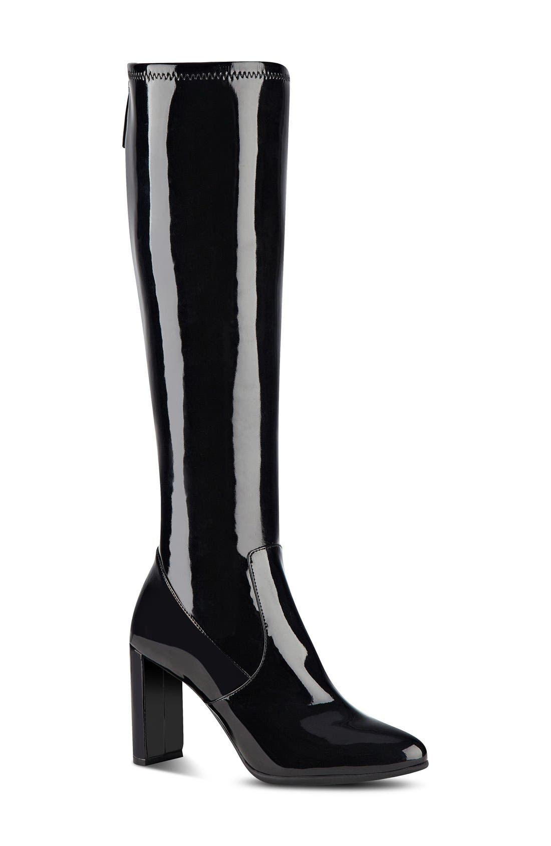 Alternate Image 1 Selected - Nine West 'Kellan' Stretch Boot (Women)