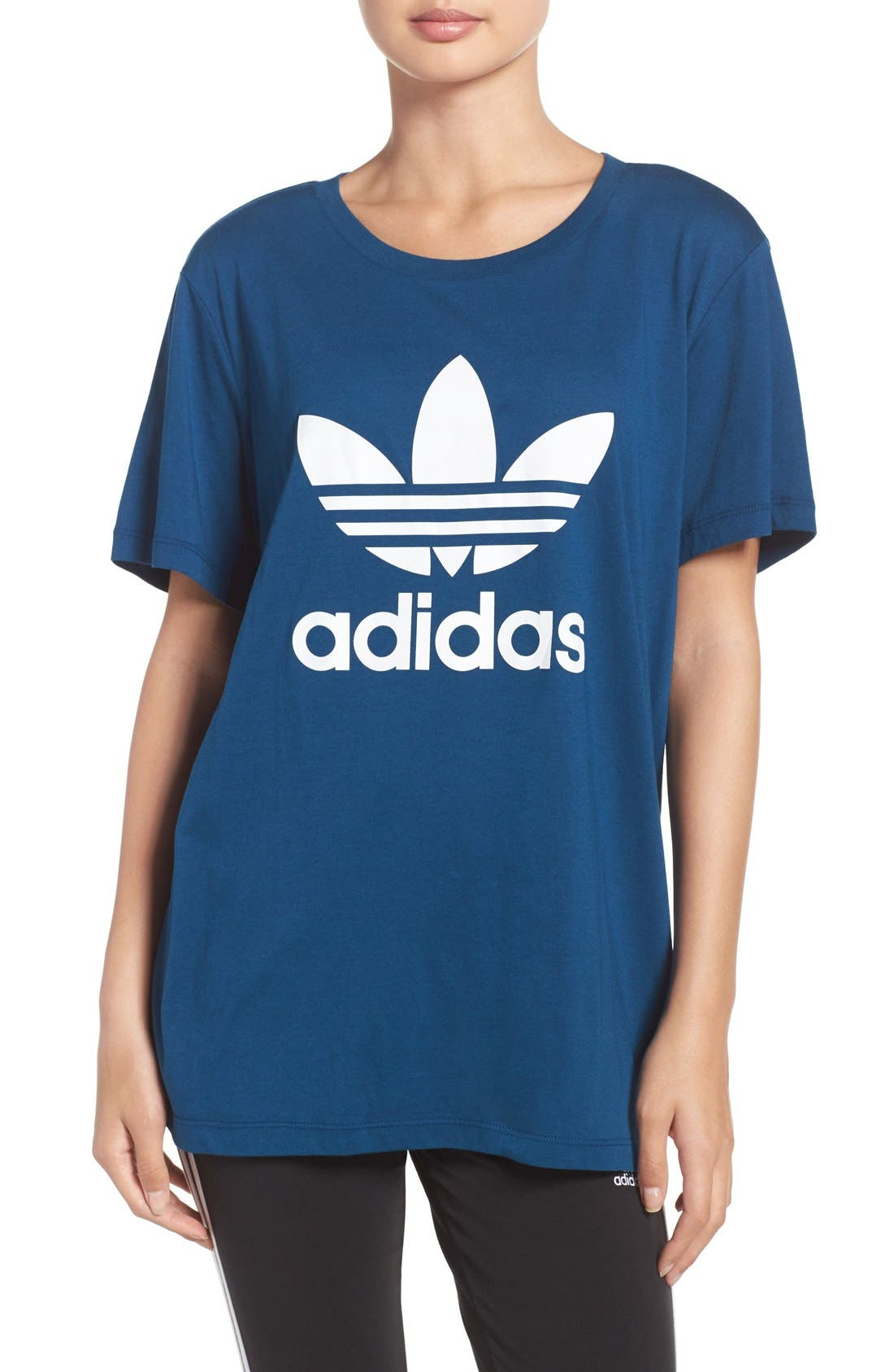 Alternate Image 1 Selected - adidas Originals Boyfriend Tee