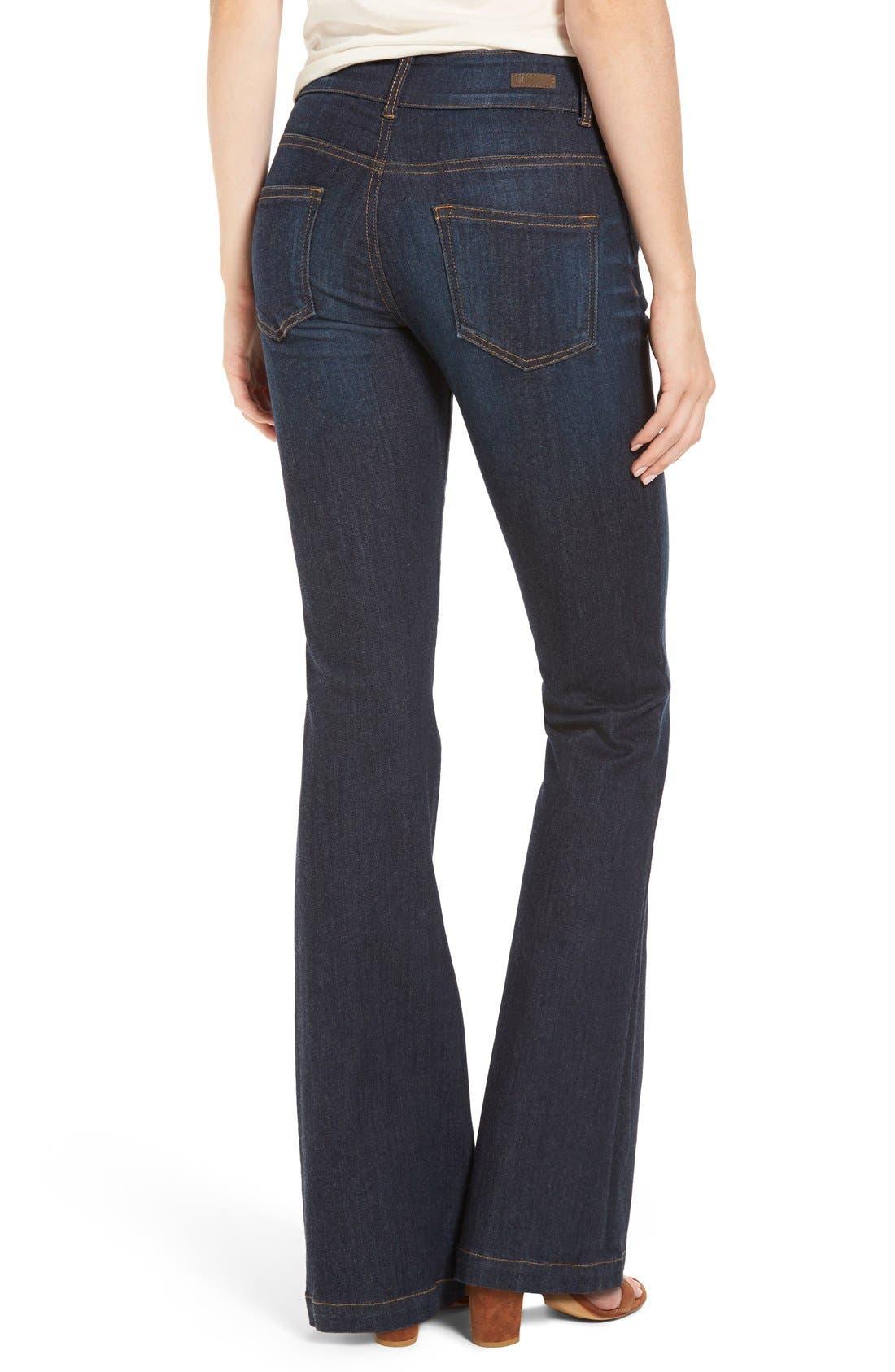 Alternate Image 2  - KUT from the Kloth 'Chrissy' Flare Leg Jeans (Brightness)