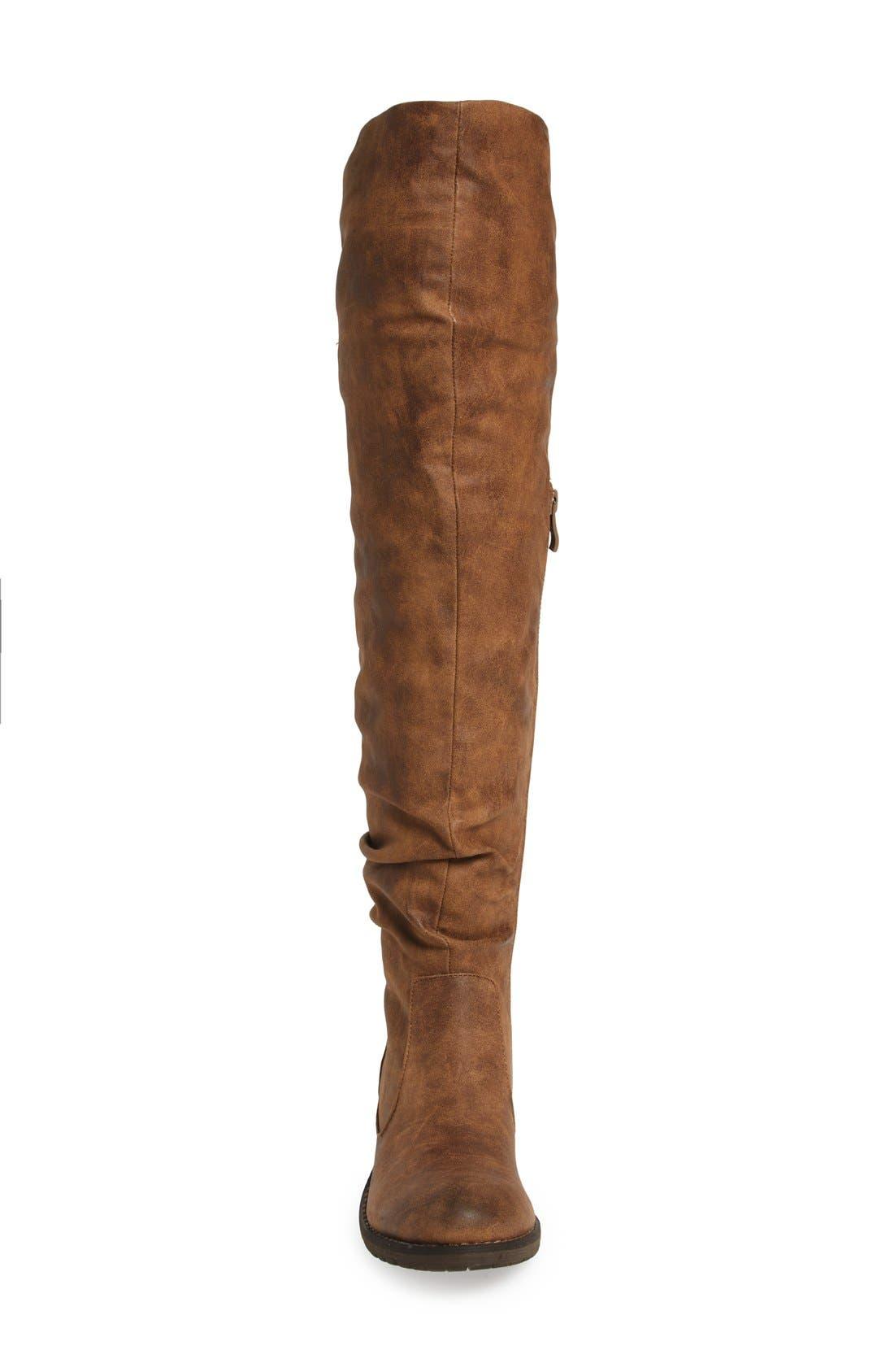 Alternate Image 3  - Very Volatile Densey Over the Knee Boot (Women)