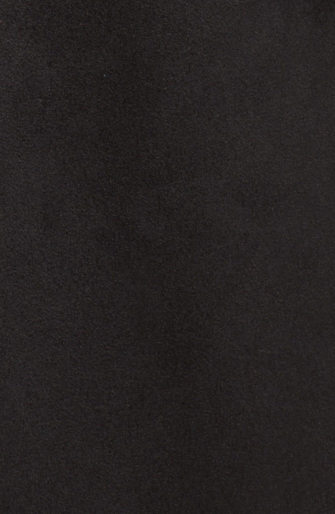 Alternate Image 5  - Vince Camuto Faux Shearling Trim Belted Wool Blend Long Coat