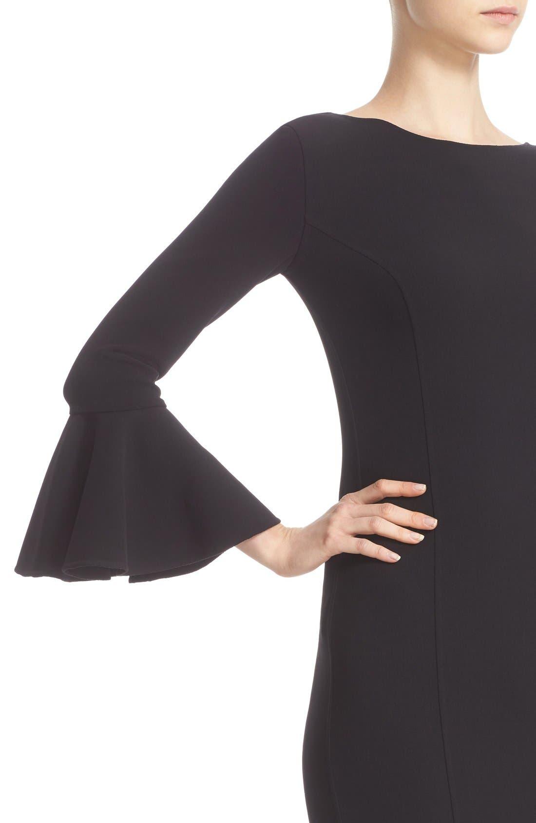 Alternate Image 6  - Michael Kors Bell Sleeve Sheath Dress