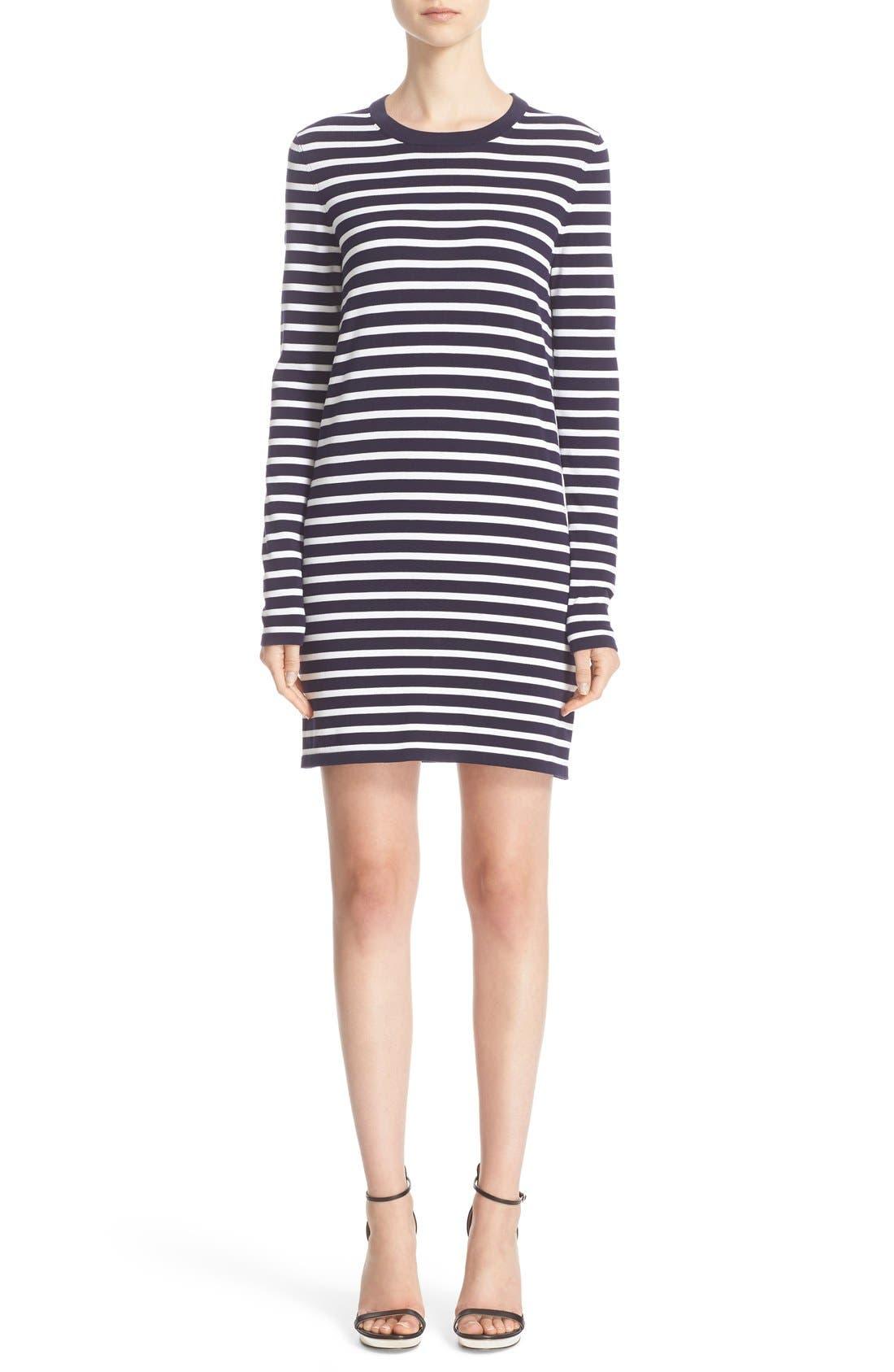 Alternate Image 1 Selected - Michael Kors Stripe T-Shirt Dress